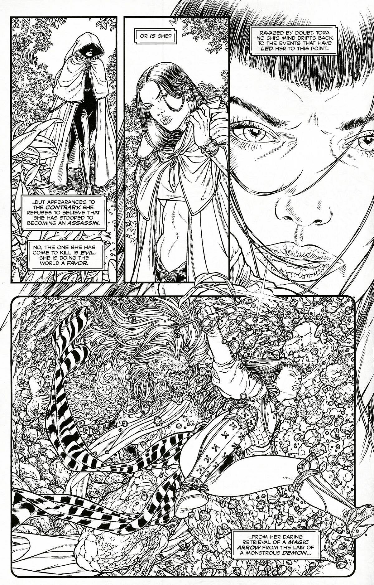 Read online Shi: Pandora's Box comic -  Issue #1 - 4