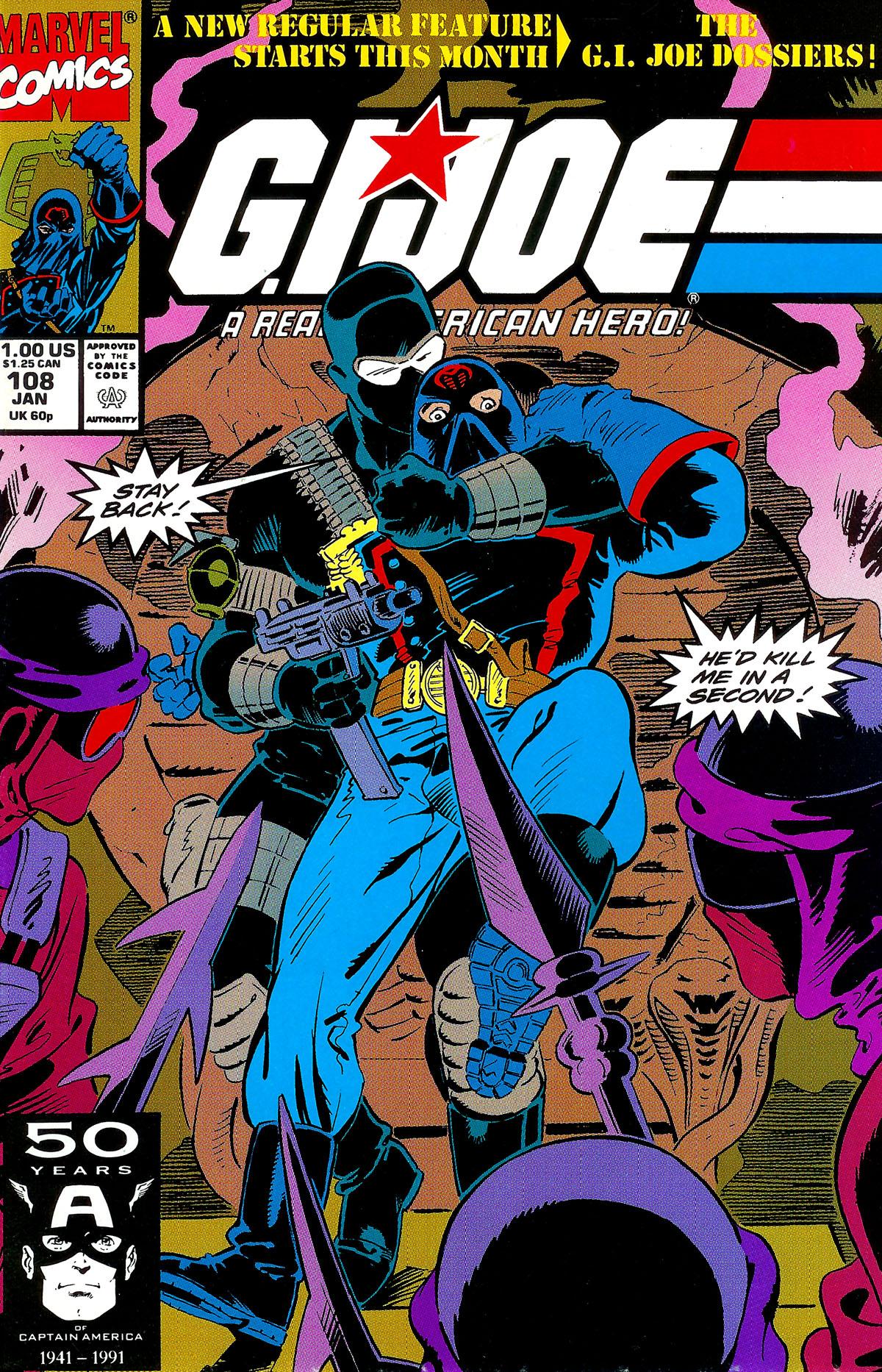 G.I. Joe: A Real American Hero 108 Page 1