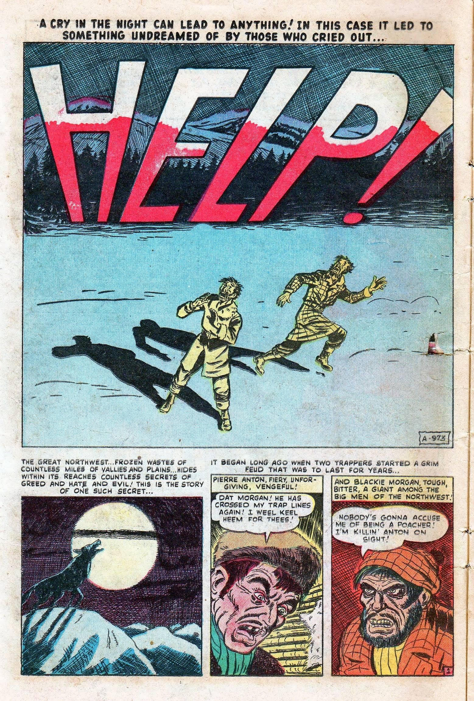 Read online Adventures into Weird Worlds comic -  Issue #11 - 14