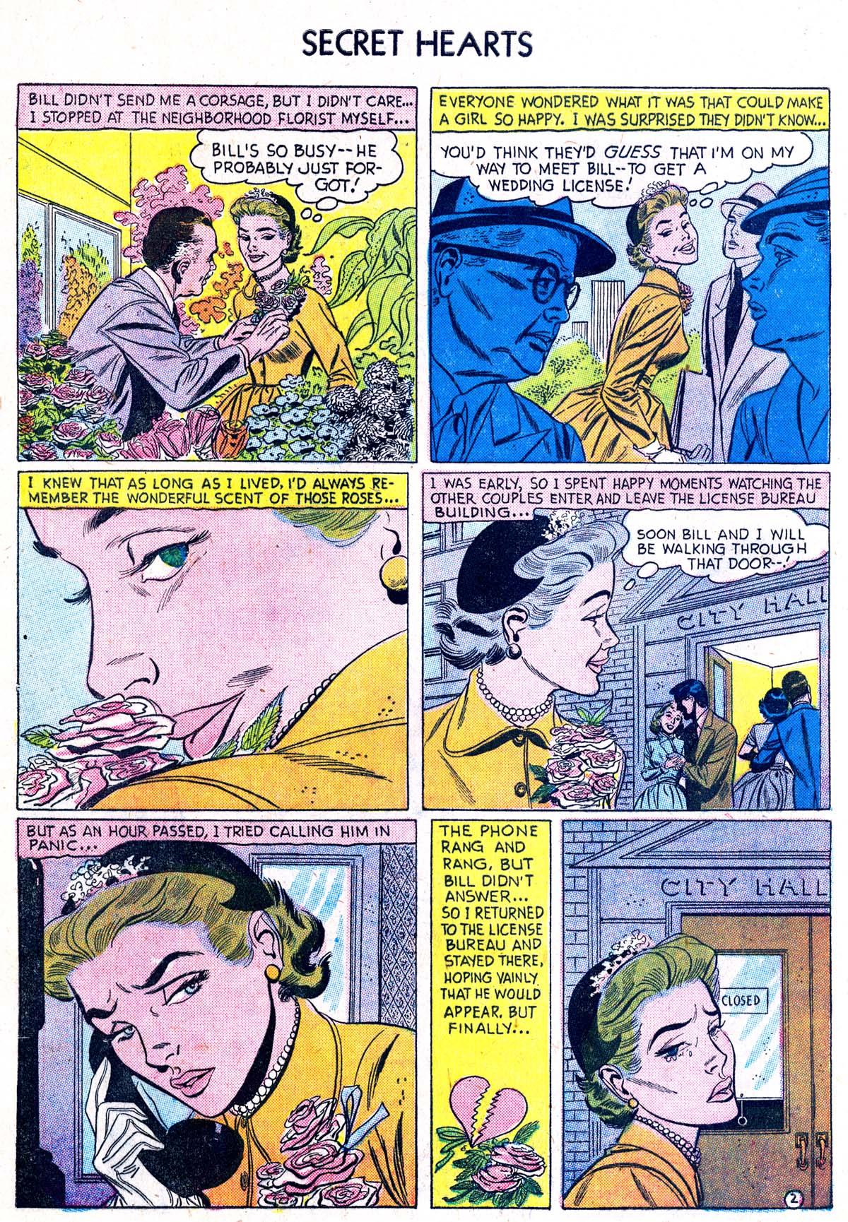 Read online Secret Hearts comic -  Issue #38 - 28