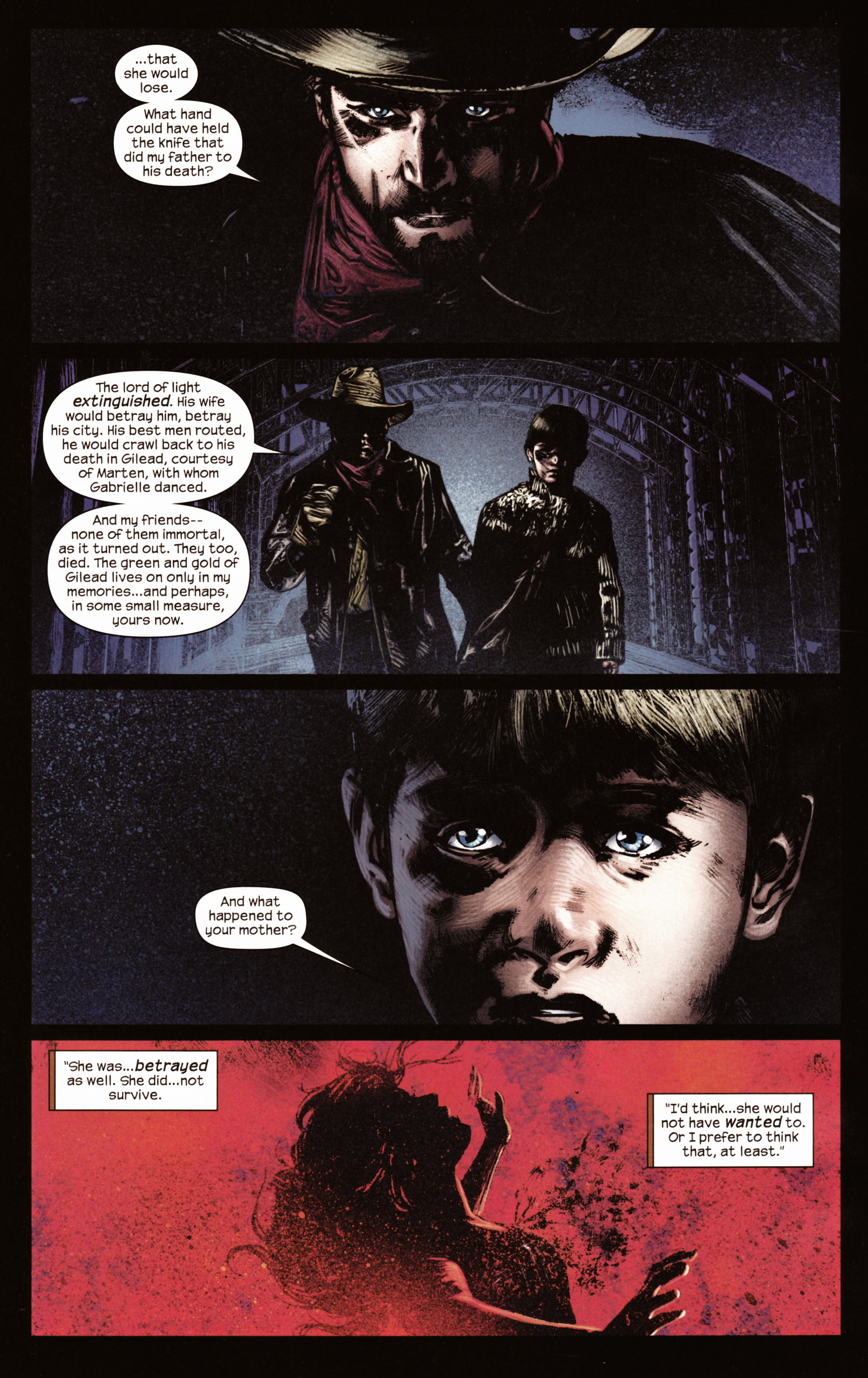 Read online Dark Tower: The Gunslinger - The Man in Black comic -  Issue #2 - 21