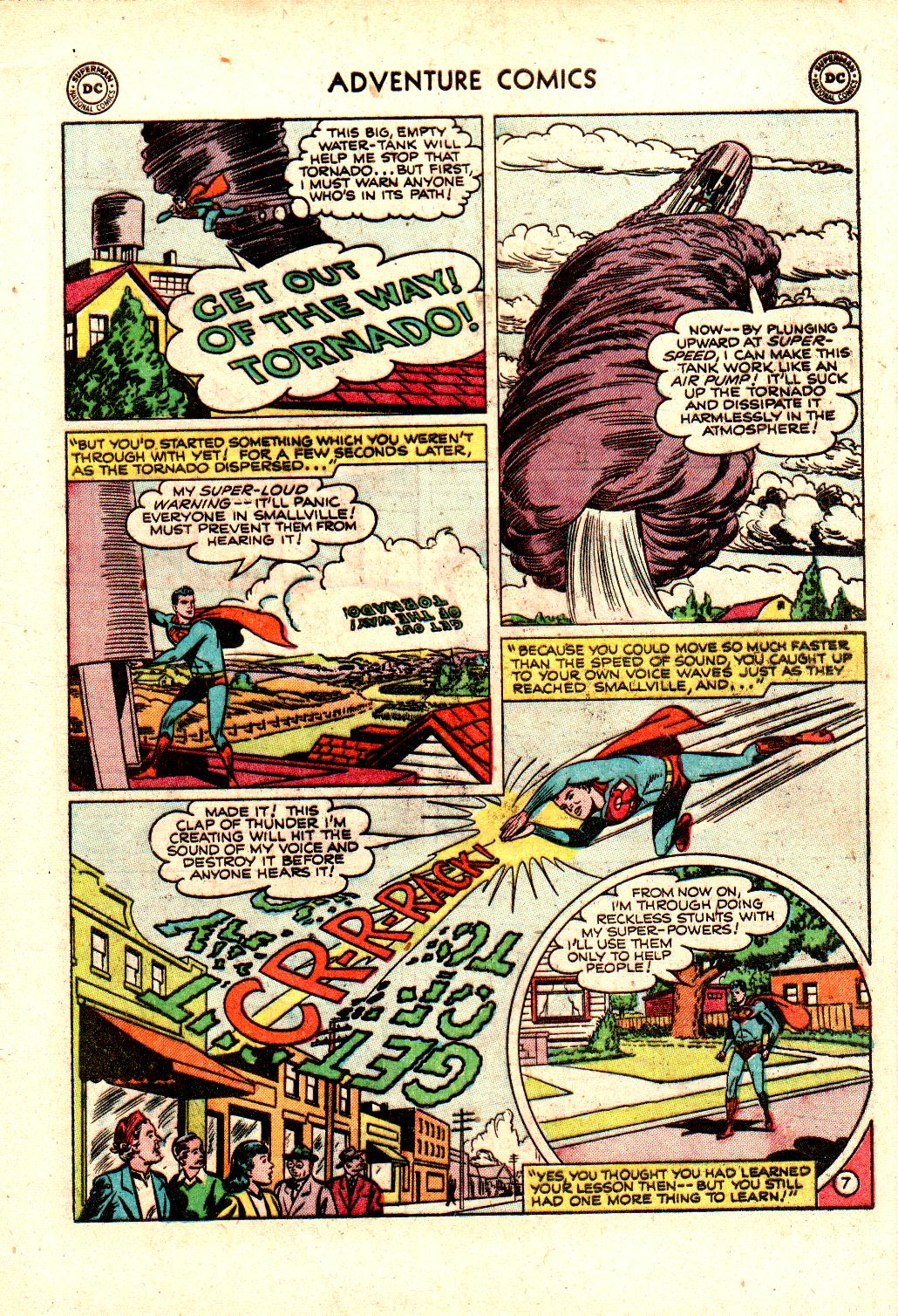 Read online Adventure Comics (1938) comic -  Issue #173 - 9