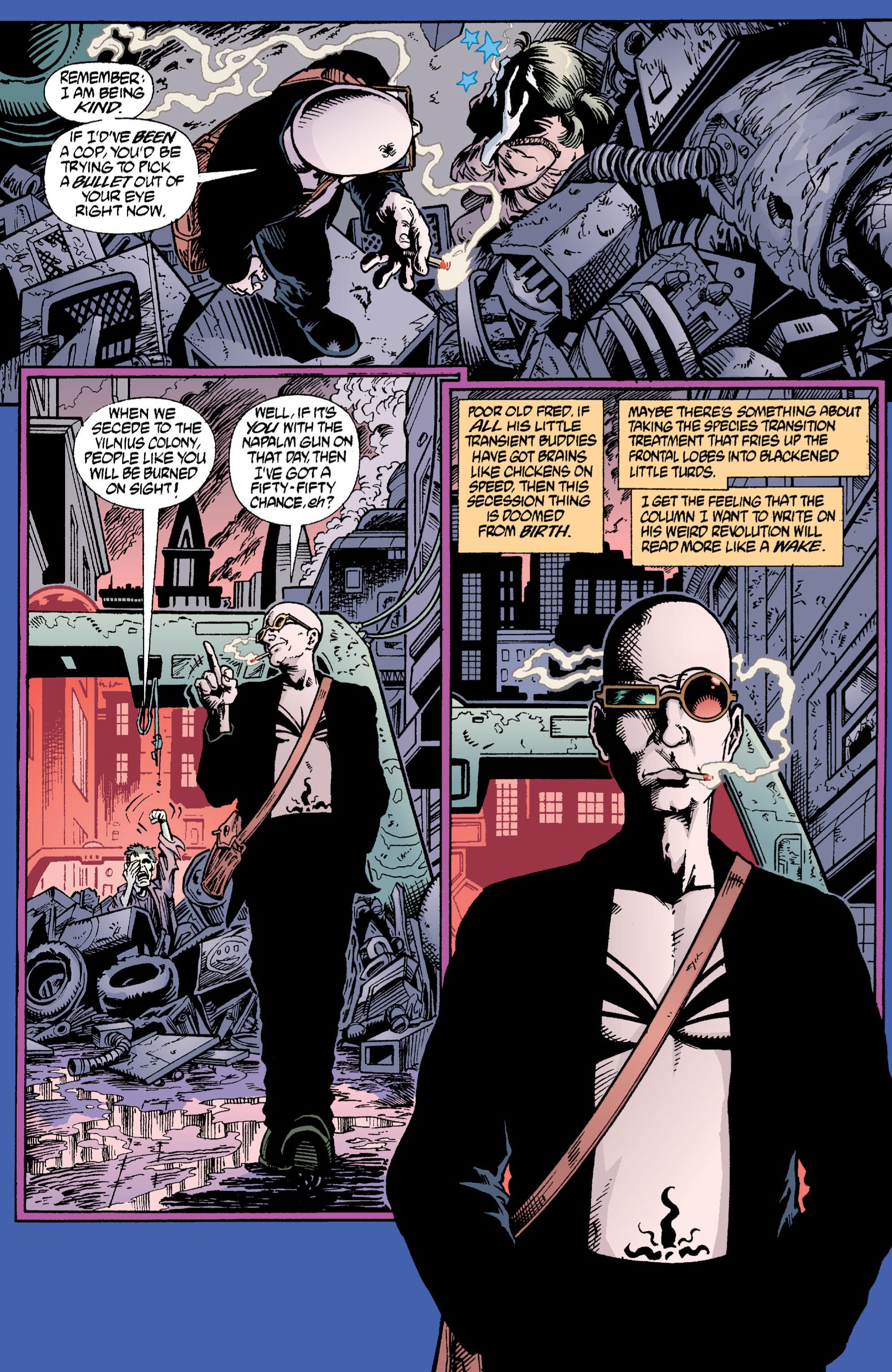 Read online Transmetropolitan comic -  Issue #2 - 4