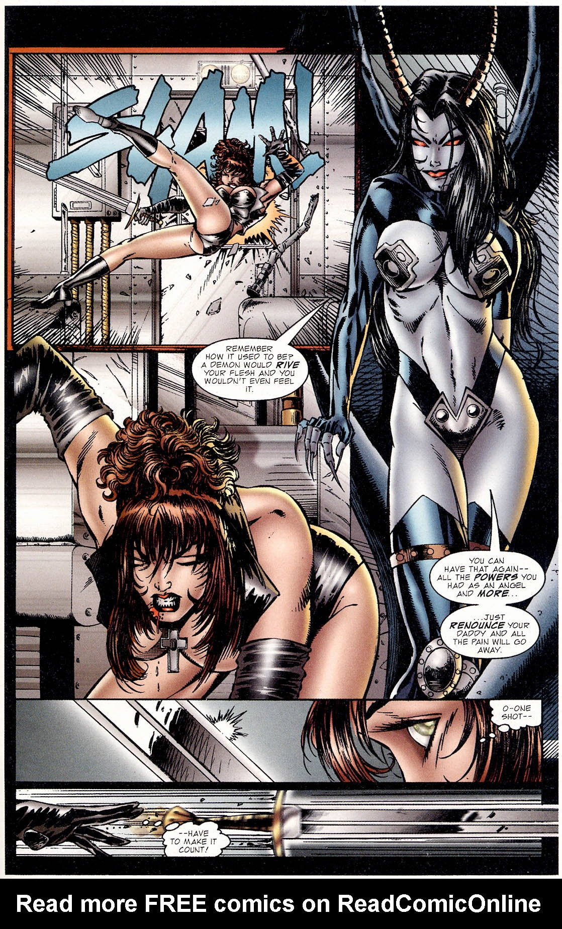 Read online Avengelyne (1995) comic -  Issue #2 - 24