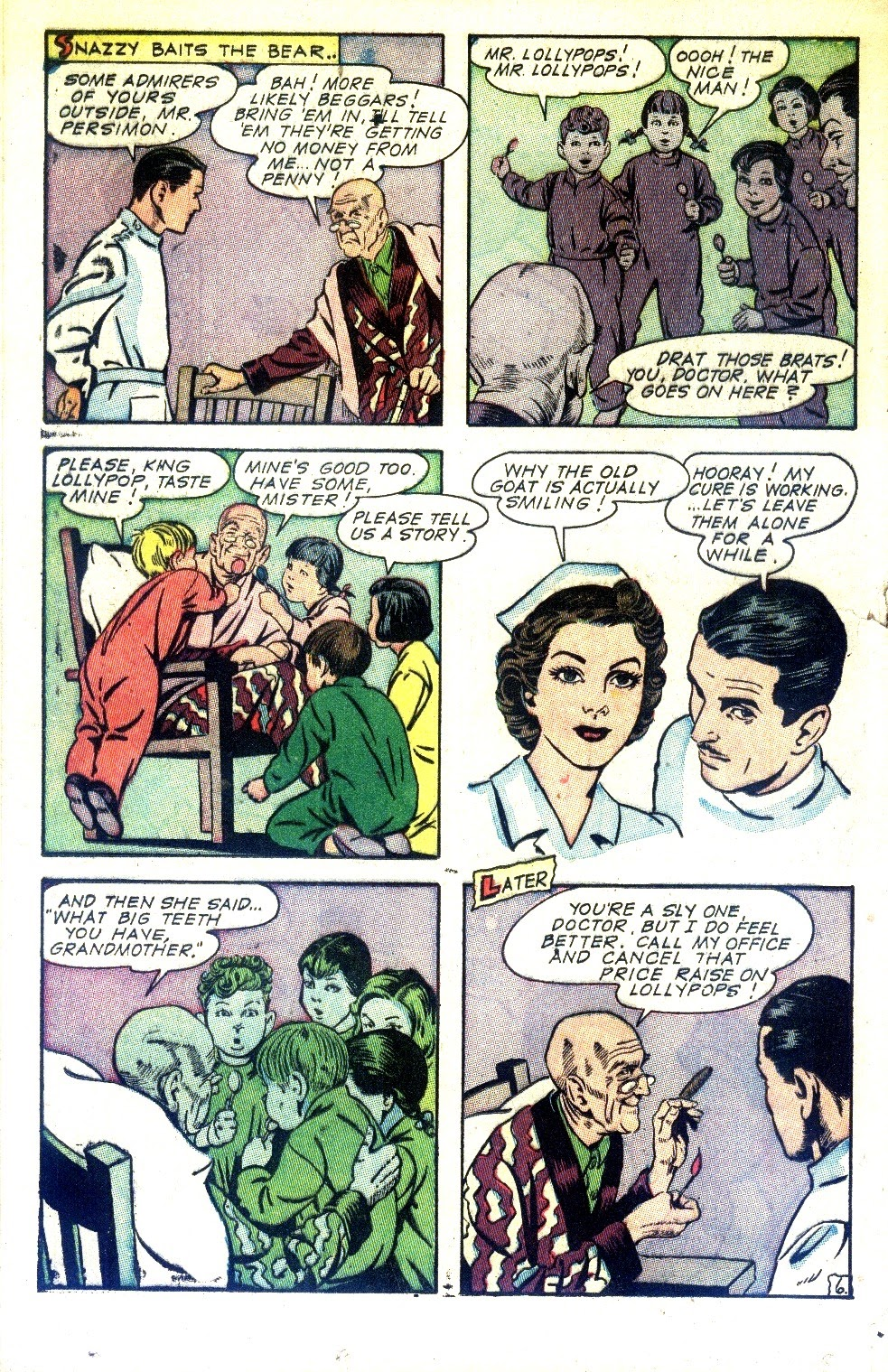 Read online Nellie The Nurse (1945) comic -  Issue #2 - 32