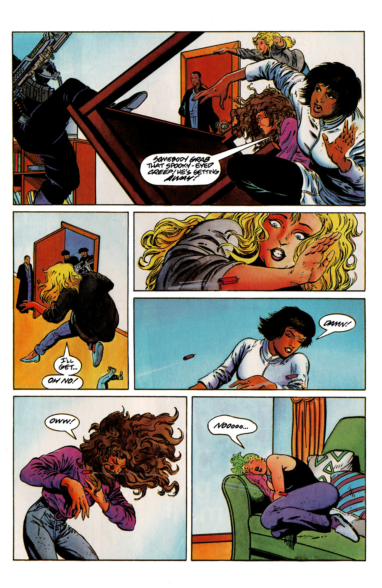 Read online Harbinger (1992) comic -  Issue #19 - 21