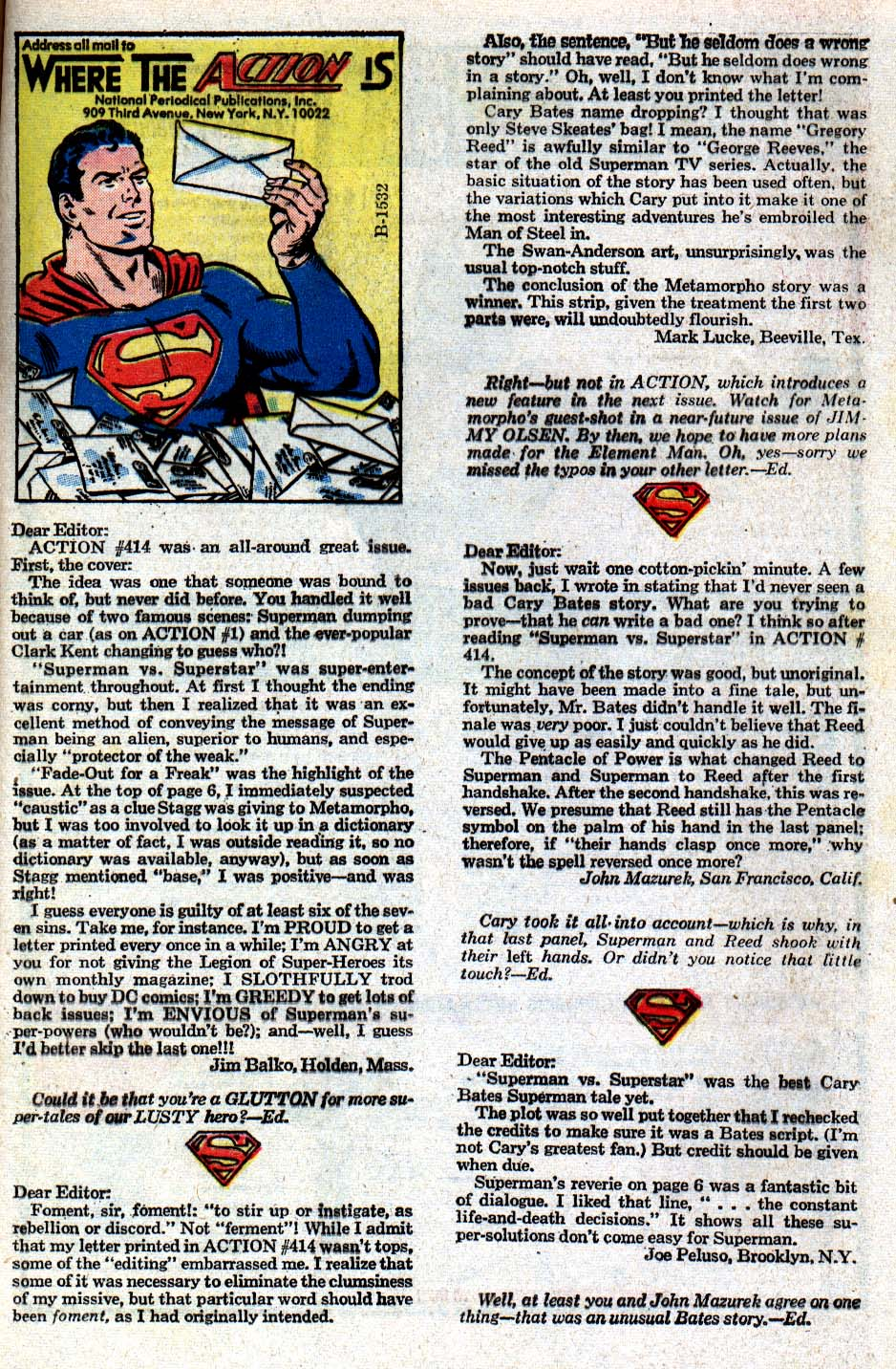Read online Action Comics (1938) comic -  Issue #418 - 33