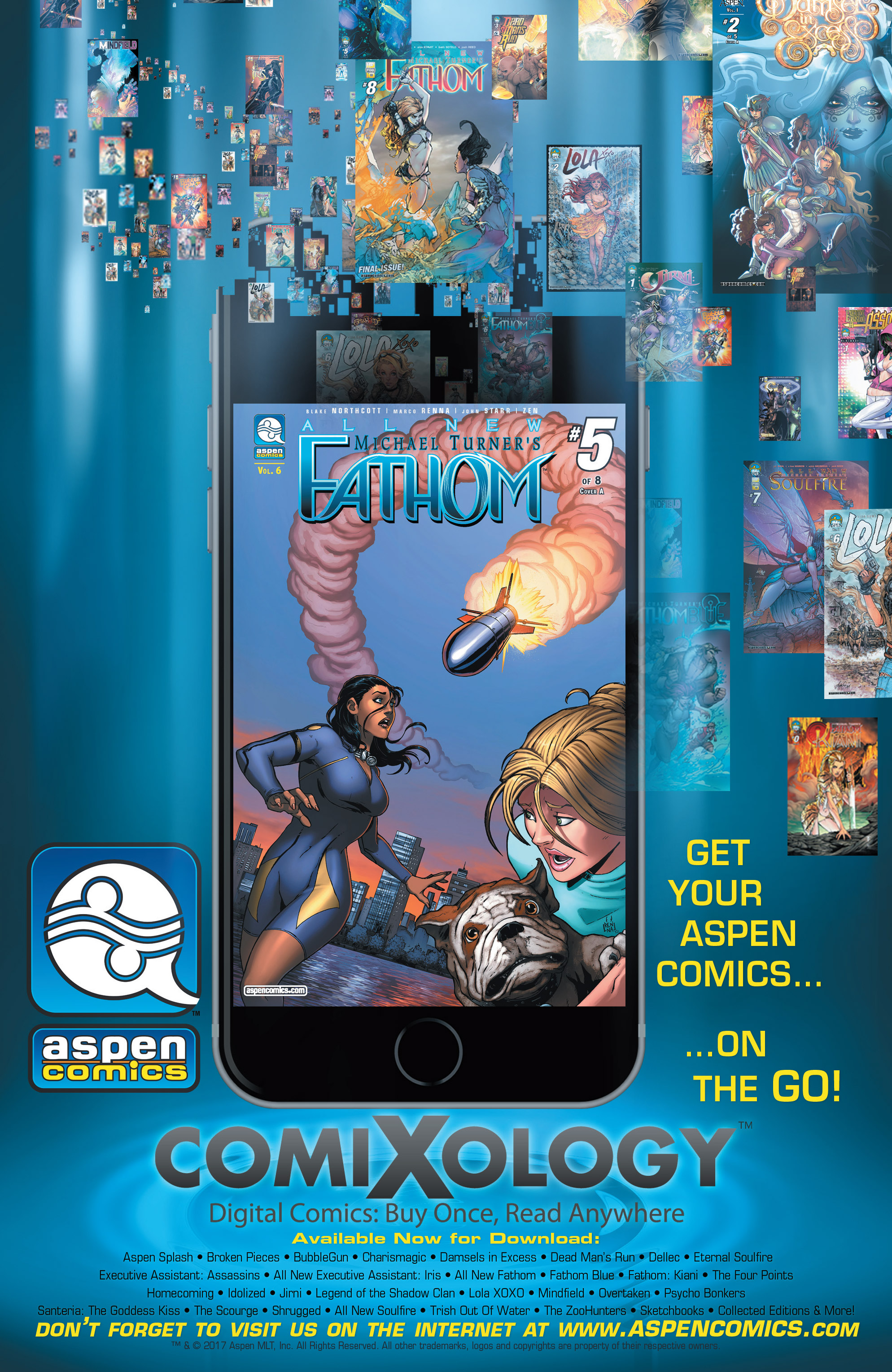 Read online Fathom (2017) comic -  Issue #5 - 26