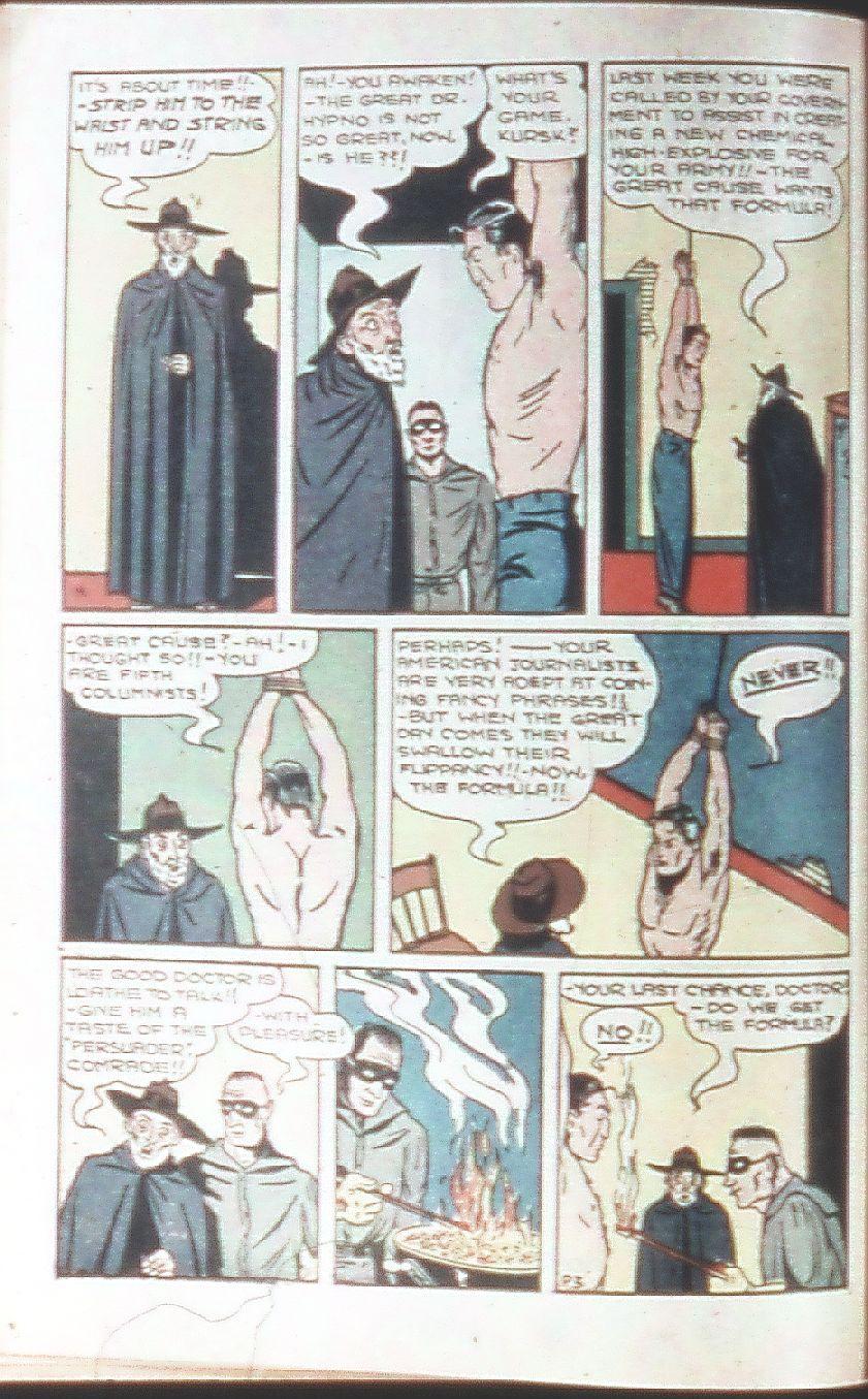 Read online Amazing Man Comics comic -  Issue #18 - 24