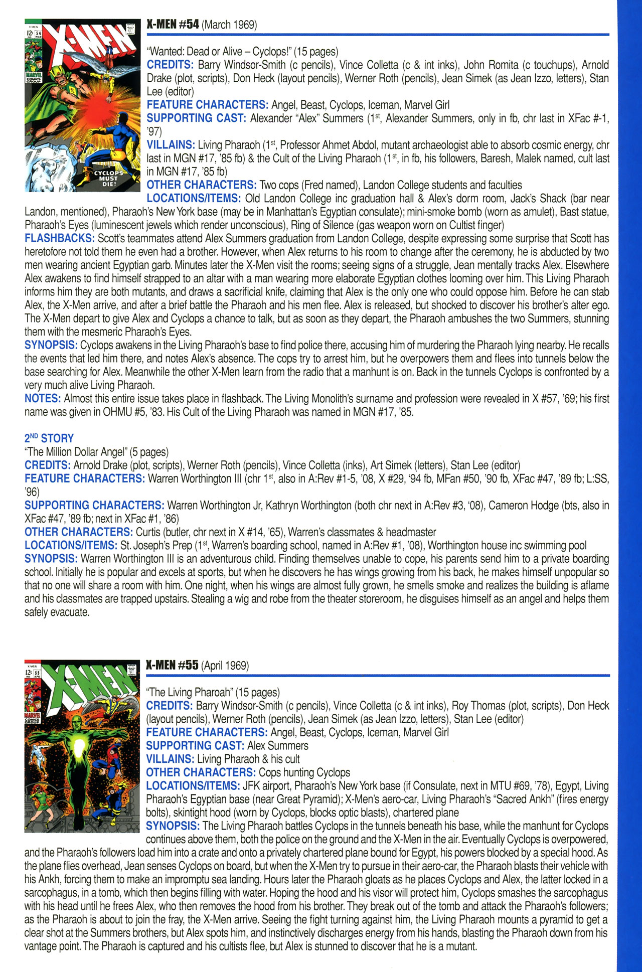Read online Official Index to the Marvel Universe comic -  Issue #2 - 47