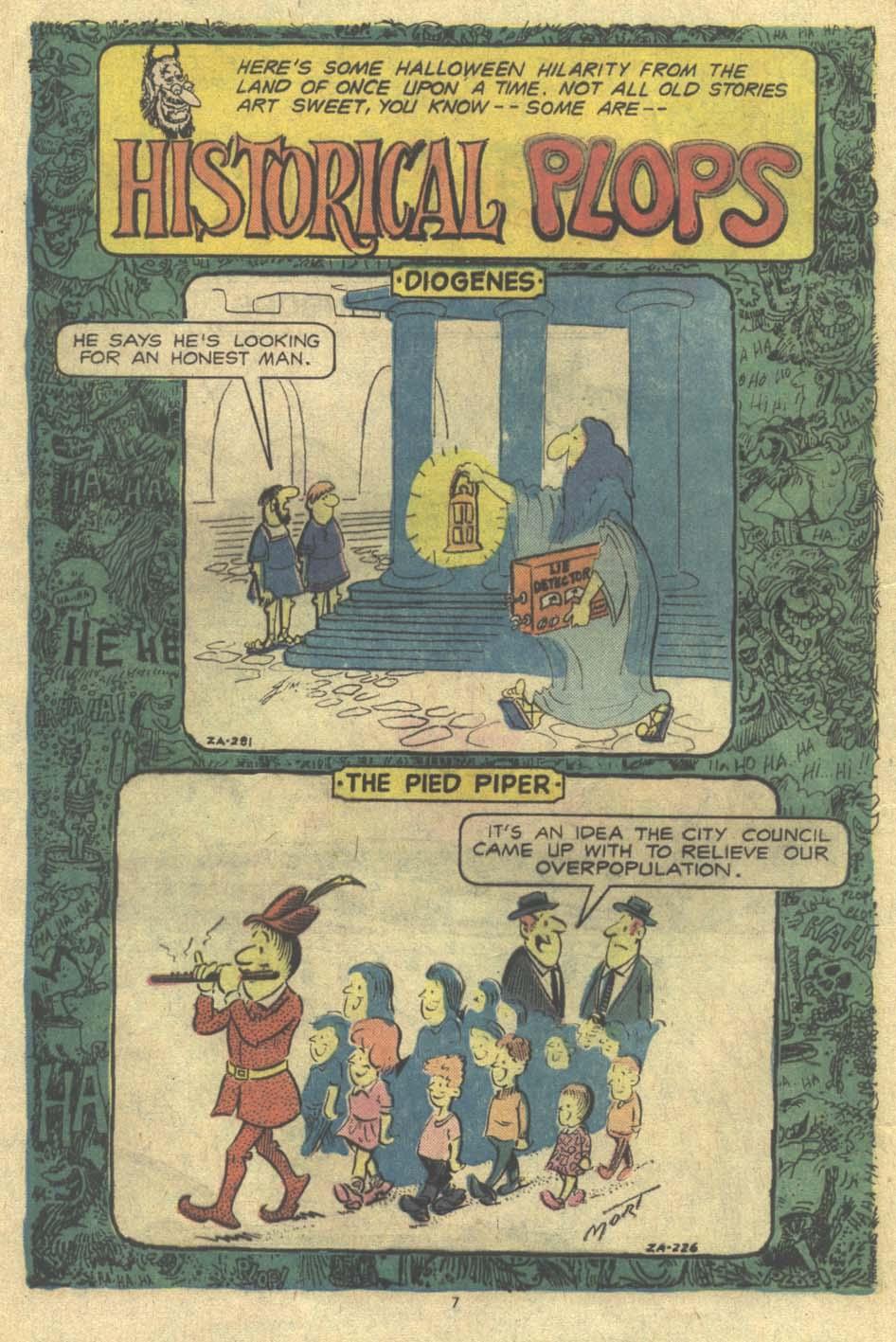 Read online Plop! comic -  Issue #9 - 8