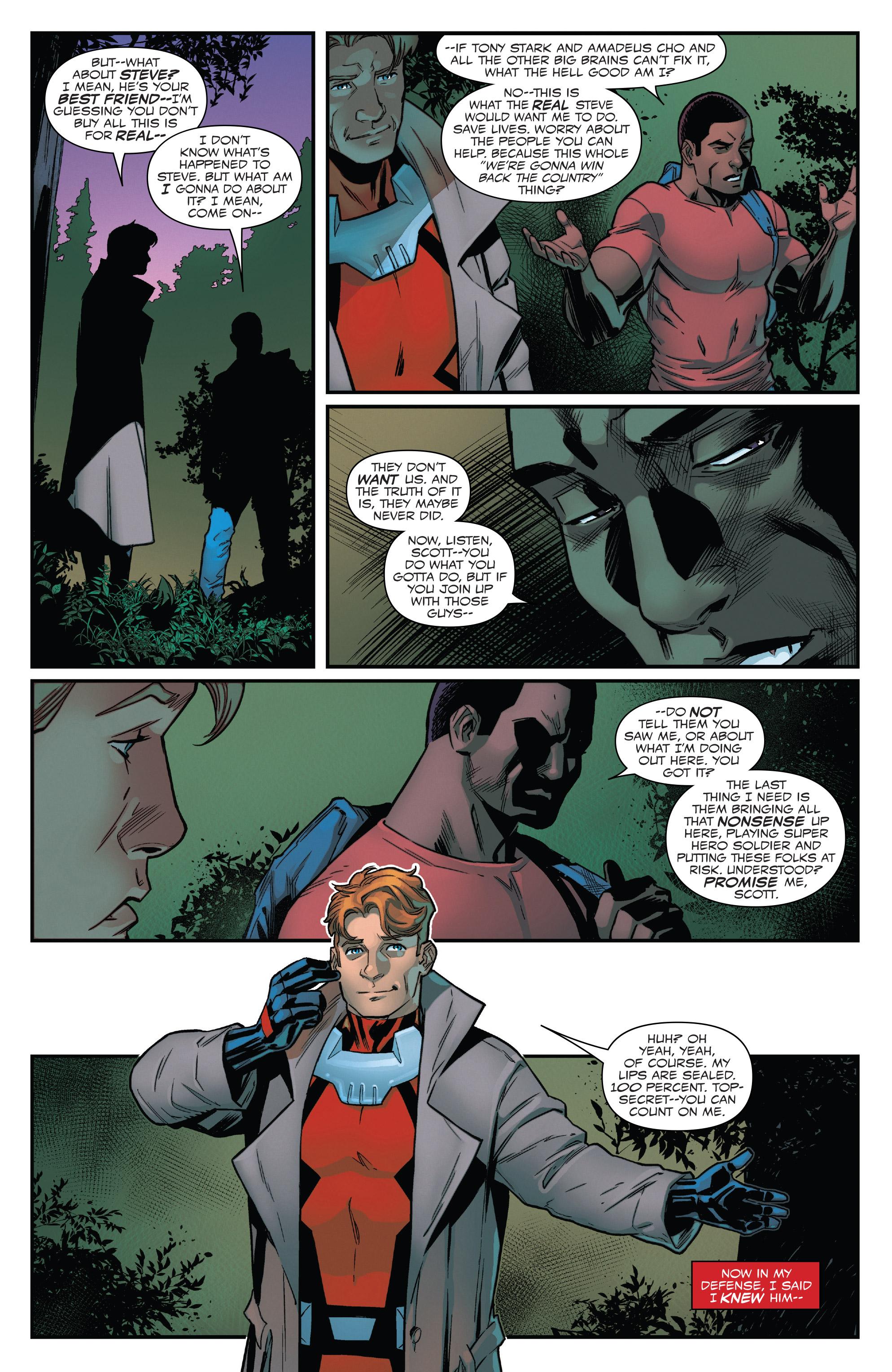 Read online Captain America: Sam Wilson comic -  Issue #22 - 20