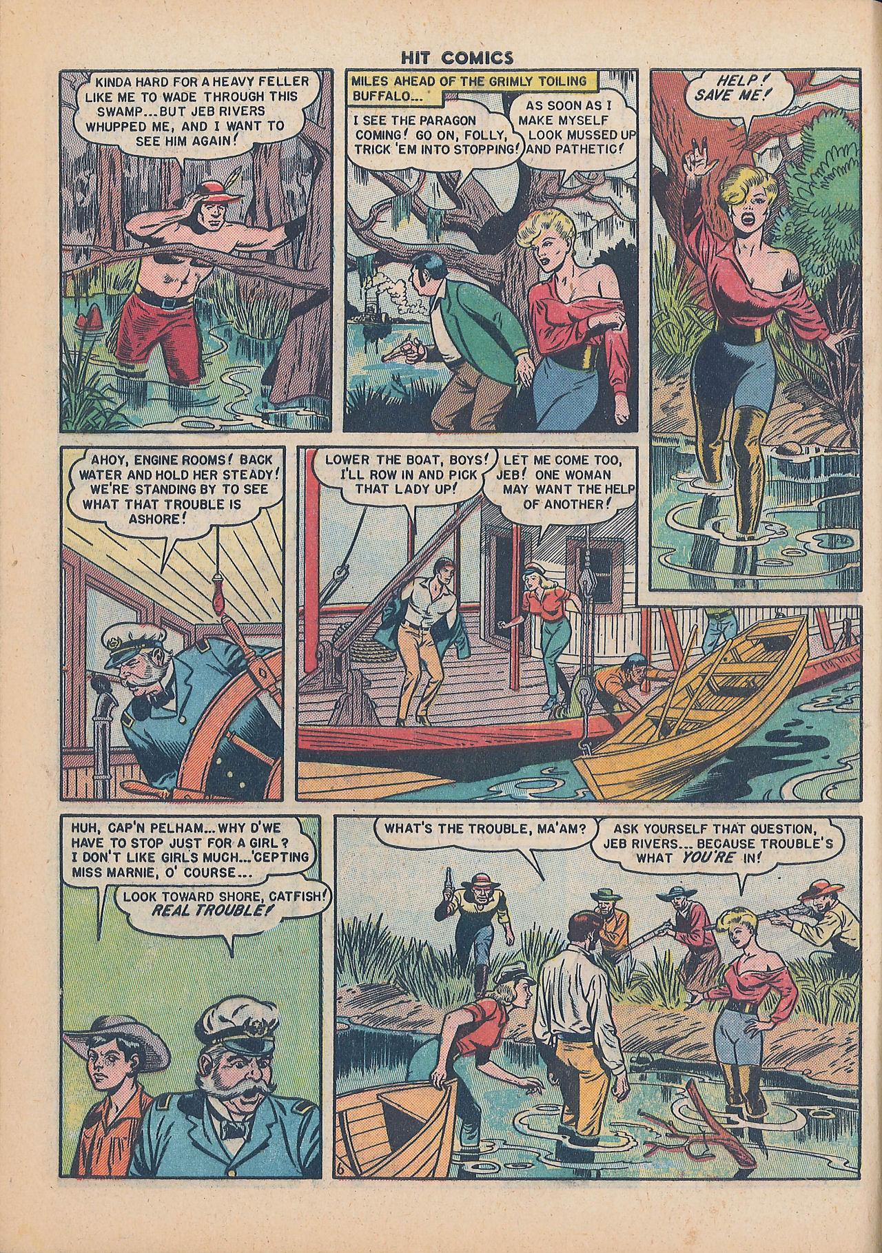 Read online Hit Comics comic -  Issue #64 - 8