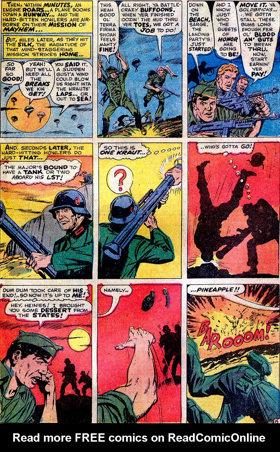 Read online Sgt. Fury comic -  Issue #88 - 21