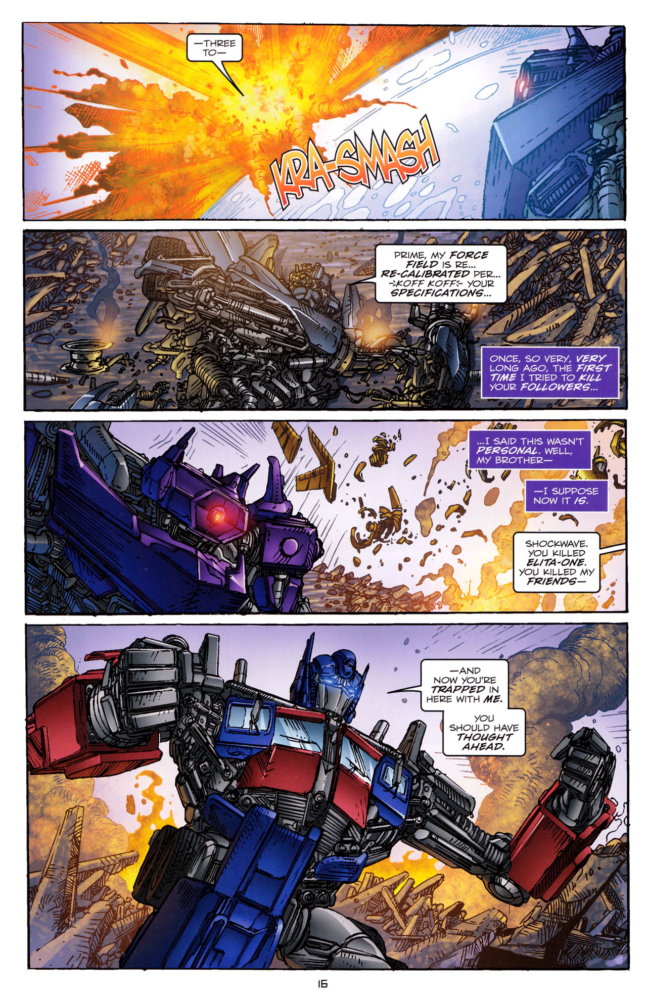 Read online Transformers: Dark of the Moon Rising Storm comic -  Issue #4 - 17