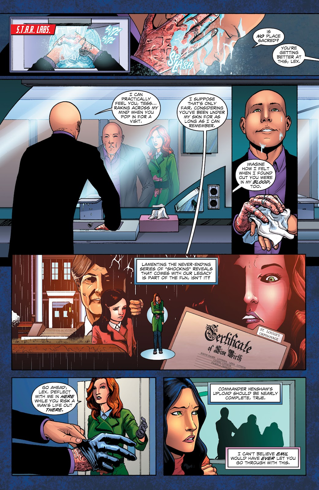 Read online Smallville Season 11 [II] comic -  Issue # TPB 1 - 95