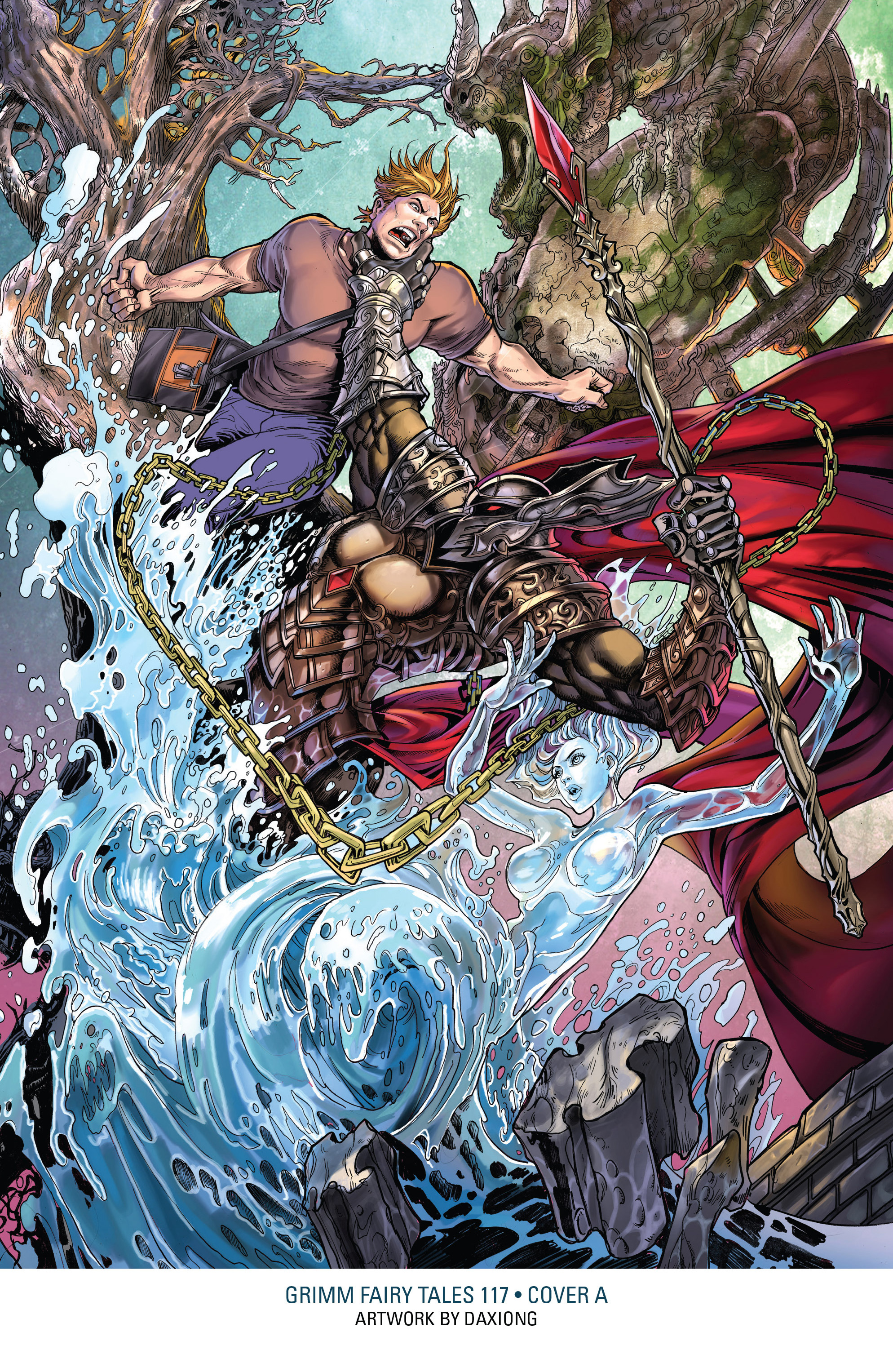 Read online Grimm Fairy Tales: Arcane Acre comic -  Issue # TPB 3 - 155