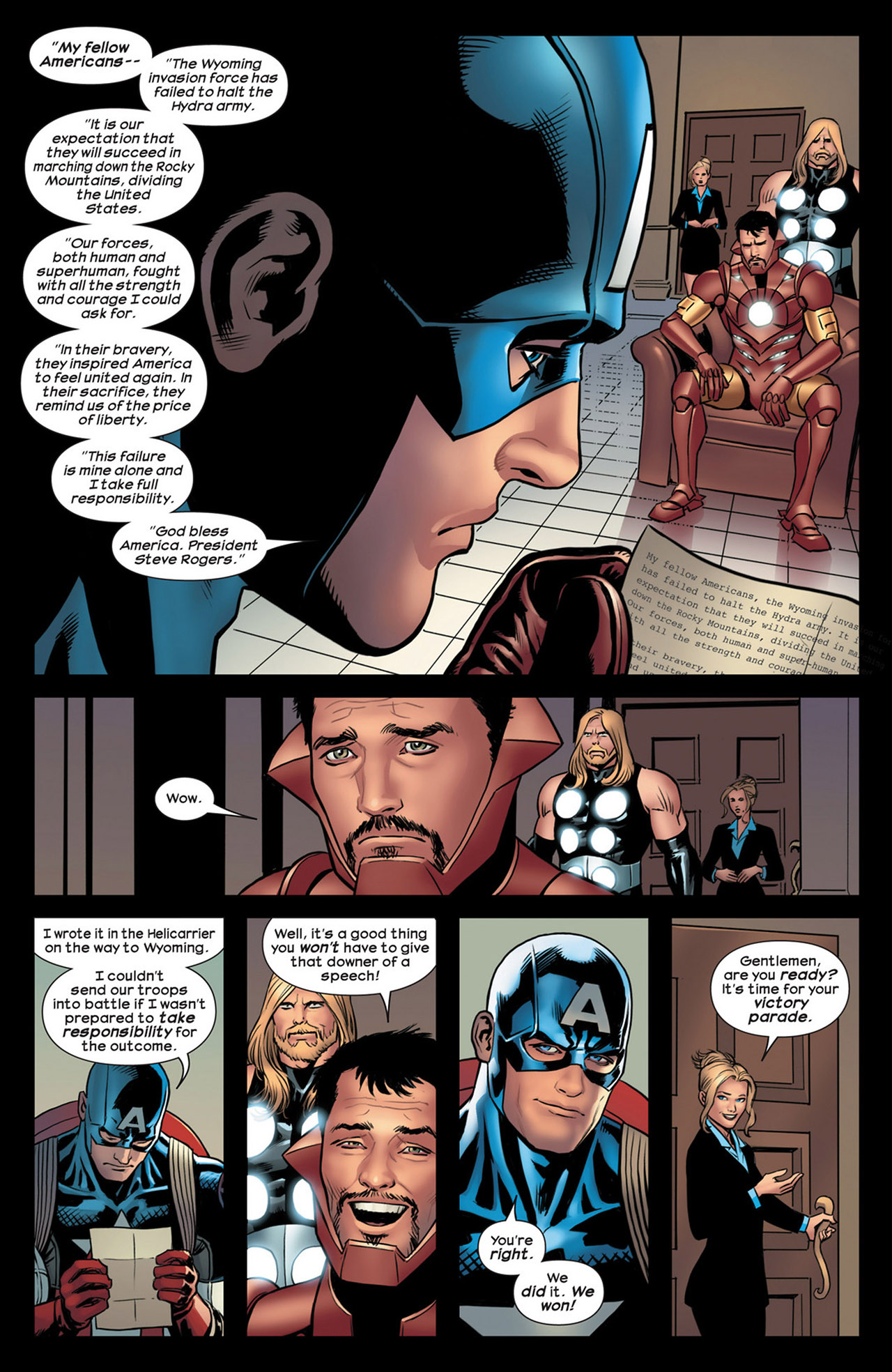 Read online Ultimate Comics Ultimates comic -  Issue #18 - 4