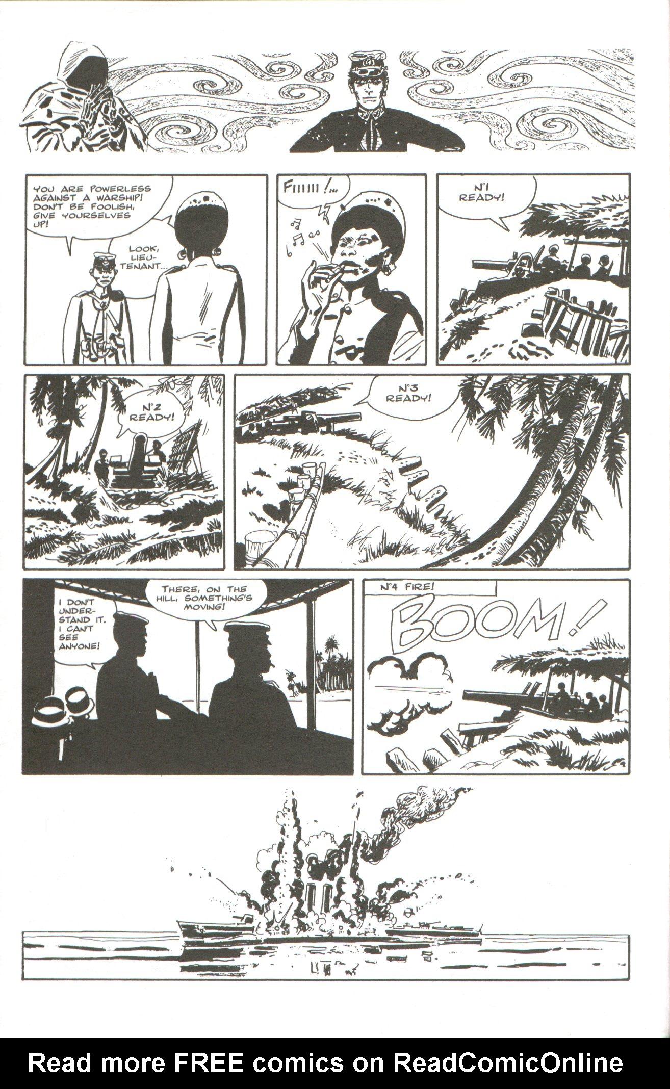 Read online Corto Maltese: Ballad of the Salt Sea comic -  Issue #5 - 8