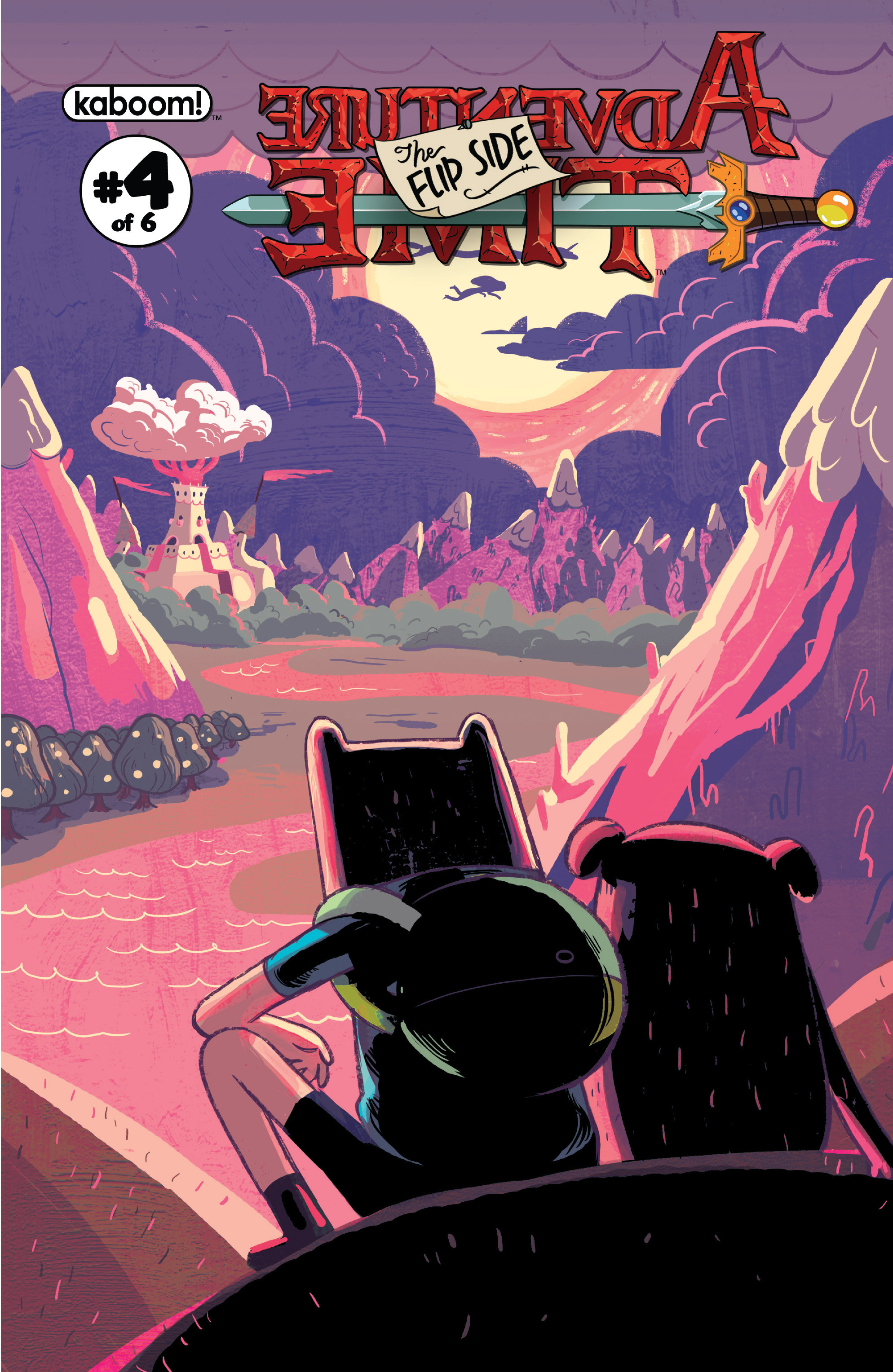 Read online Adventure Time: The Flip Side comic -  Issue #4 - 2