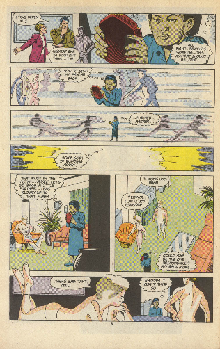 Read online Justice (1986) comic -  Issue #16 - 7