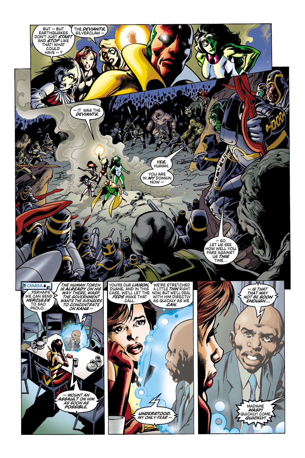 Read online Avengers (1998) comic -  Issue #43 - 20