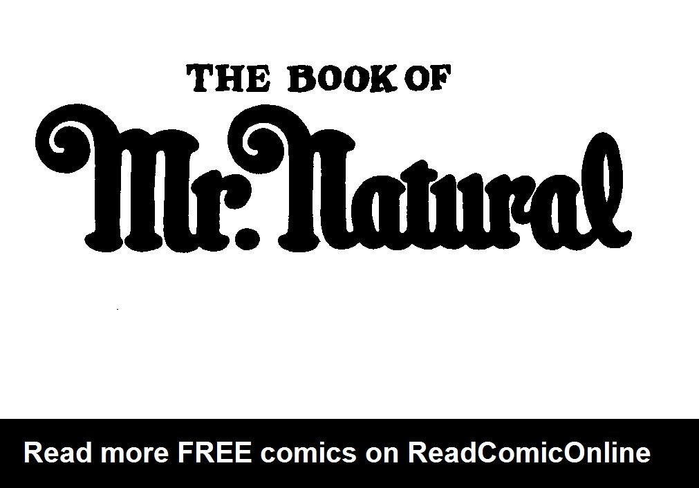 Book of Mr. Natural TPB Page 2