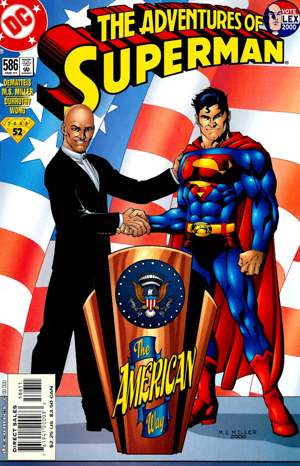 Read online Adventures of Superman (1987) comic -  Issue #586 - 1