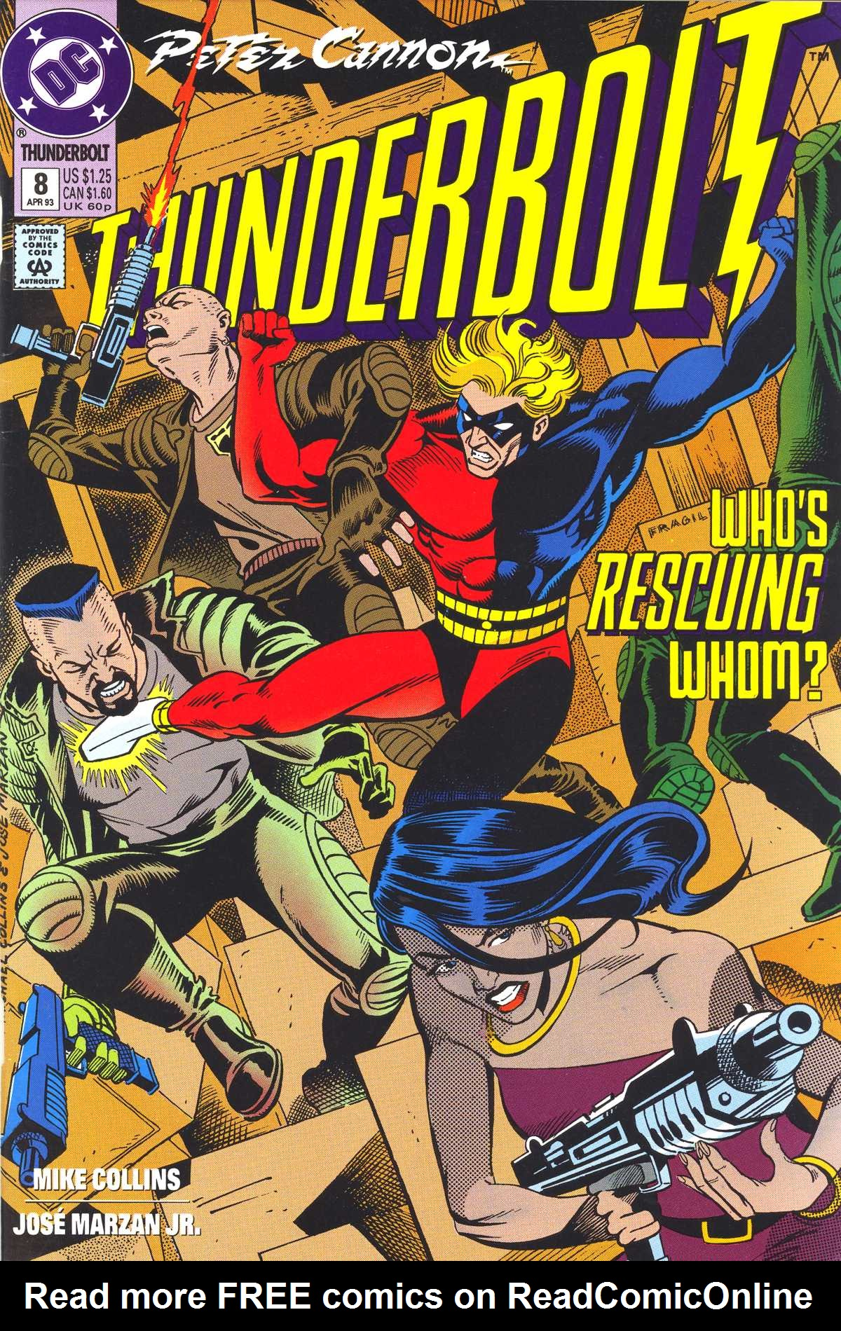 Read online Peter Cannon--Thunderbolt (1992) comic -  Issue #8 - 1