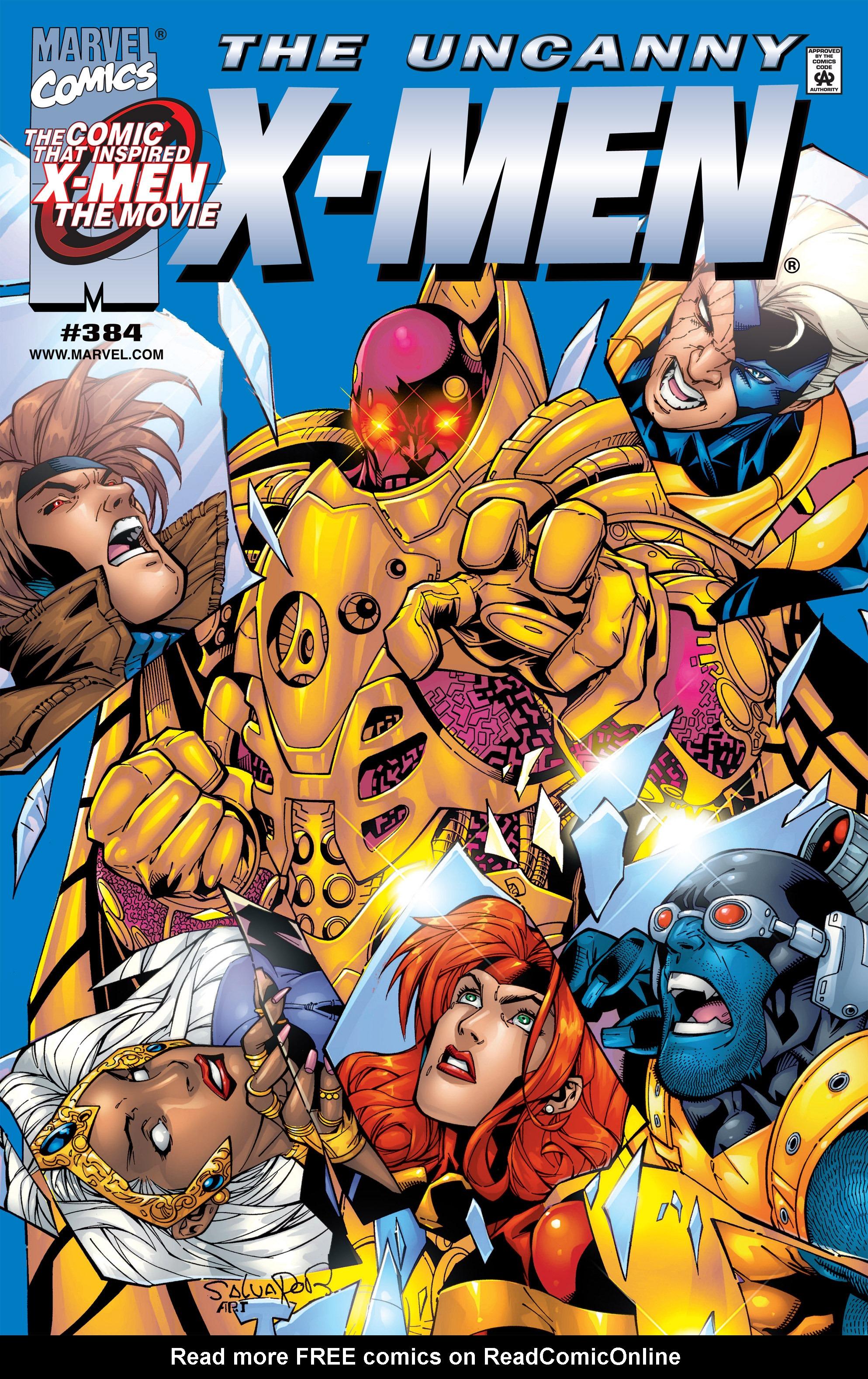 Uncanny X-Men (1963) 384 Page 1