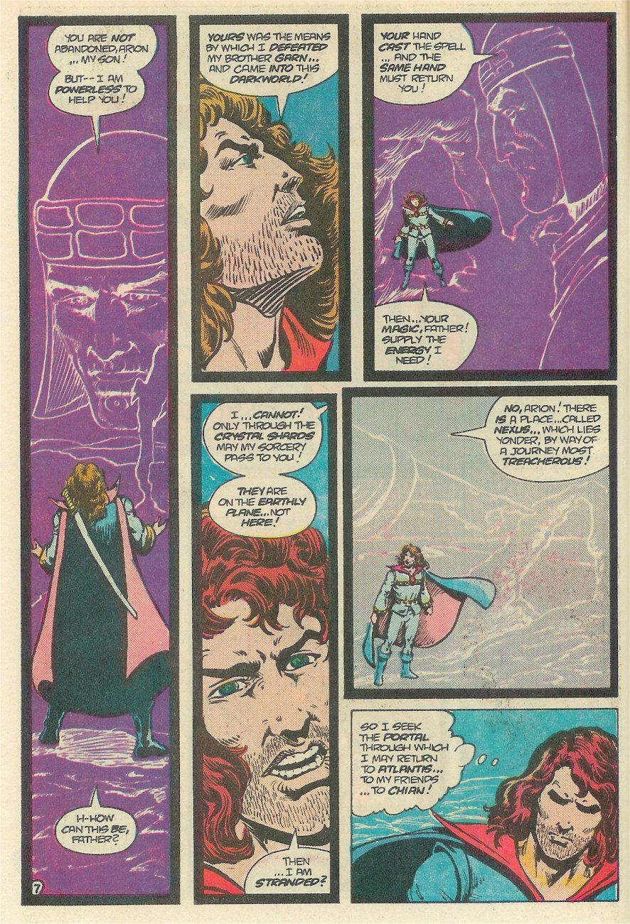 Read online Arion, Lord of Atlantis comic -  Issue #25 - 8