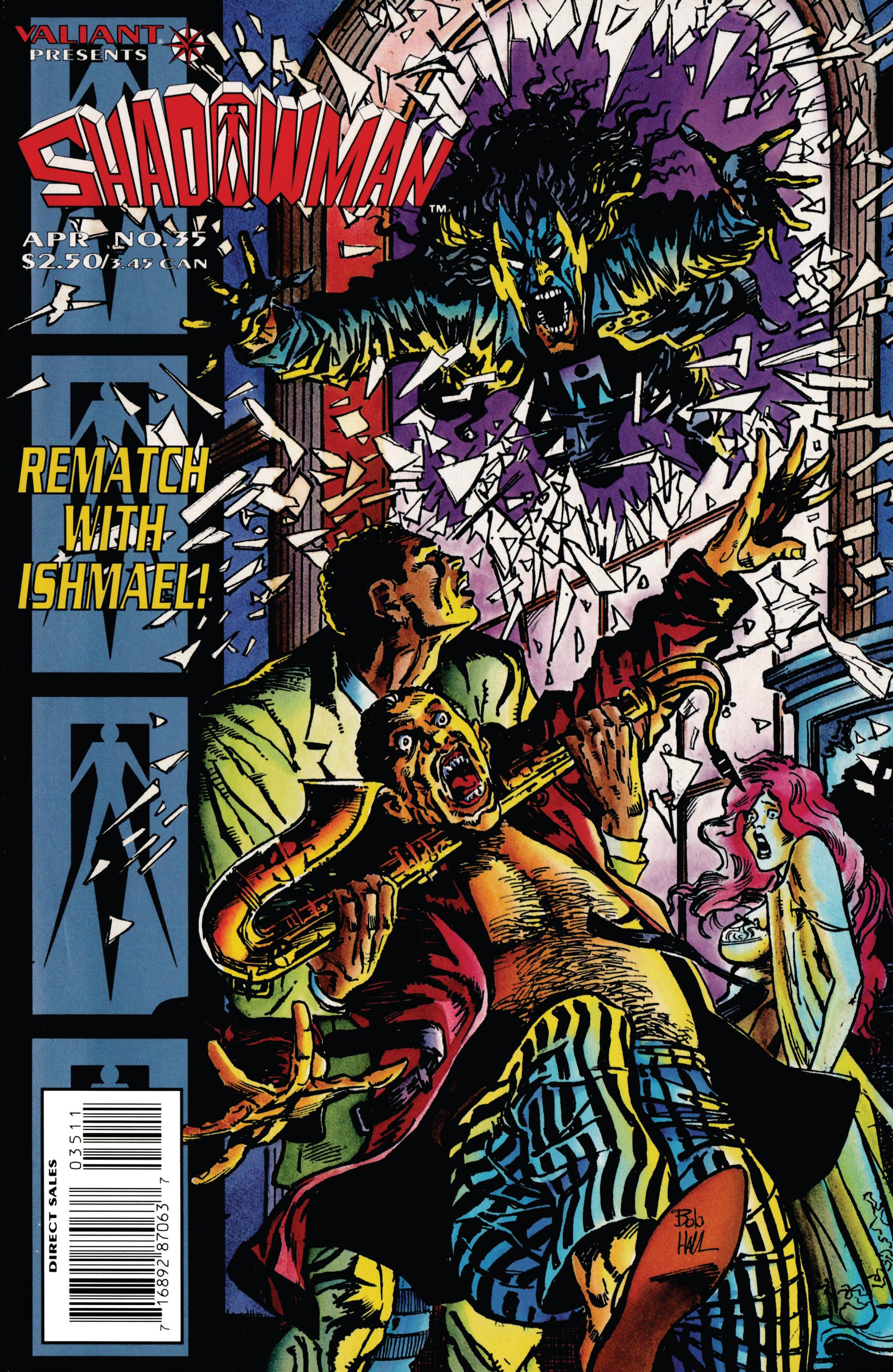 Read online Shadowman (1992) comic -  Issue #35 - 1