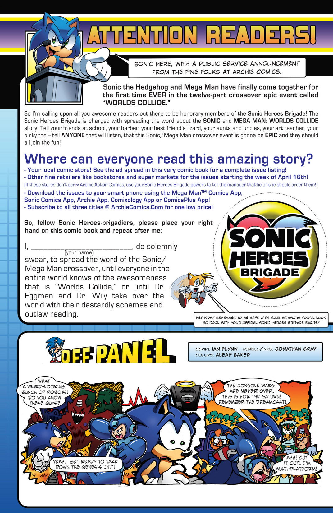 Read online Sonic Mega Man Worlds Collide comic -  Issue # Vol 2 - 30