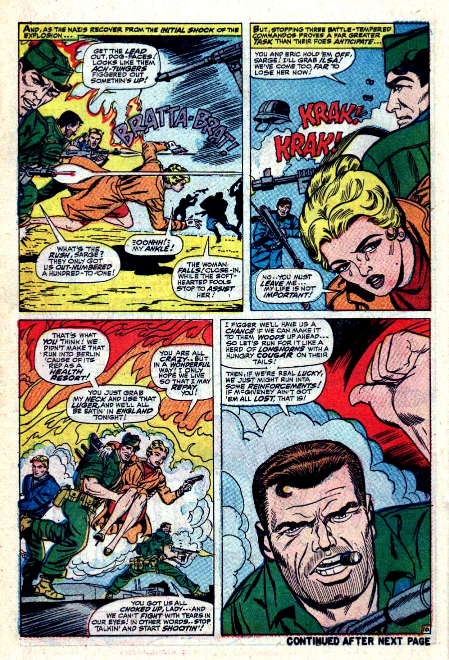 Read online Sgt. Fury comic -  Issue #42 - 22