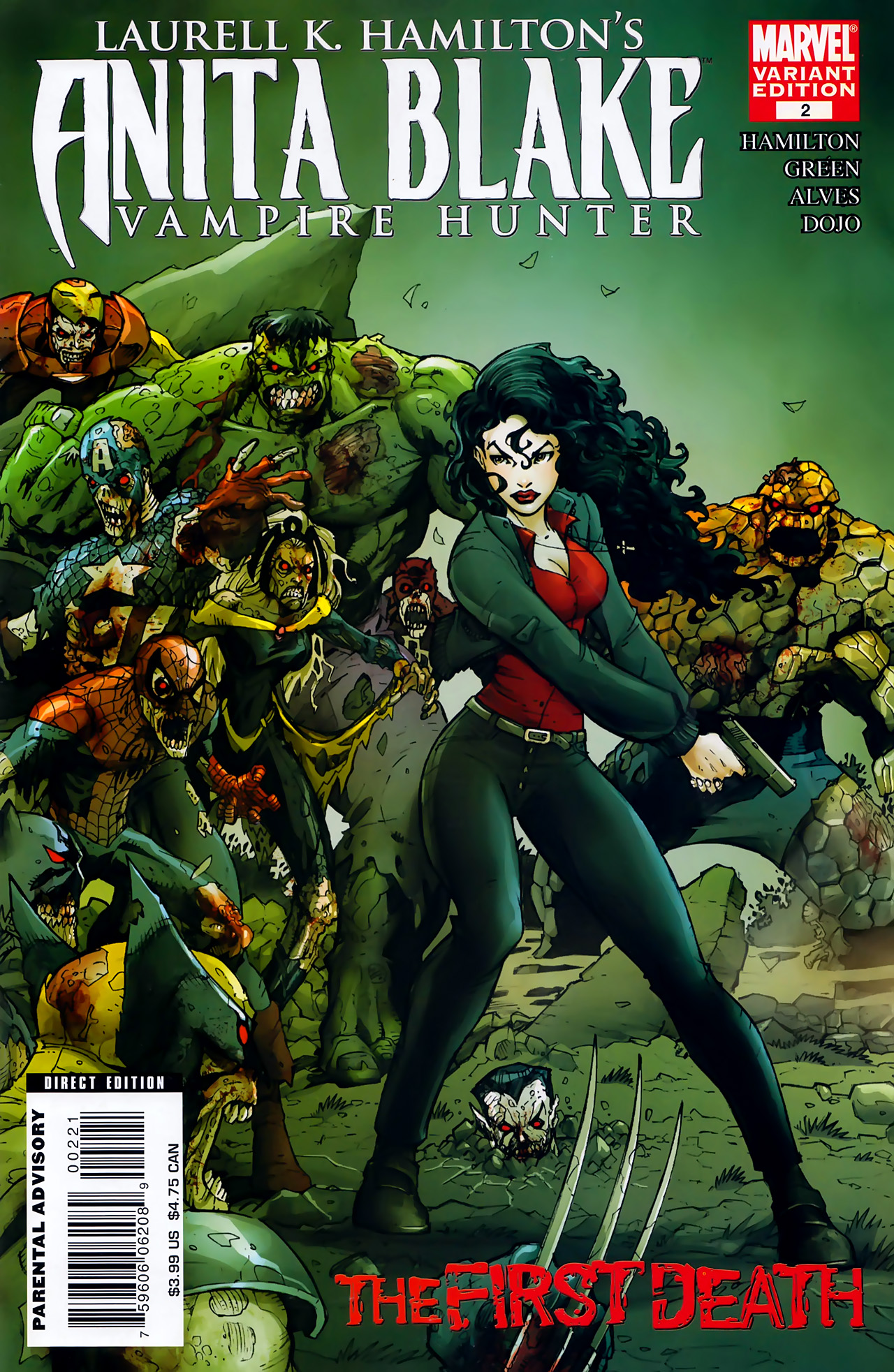 Read online Anita Blake, Vampire Hunter: The First Death comic -  Issue #2 - 2