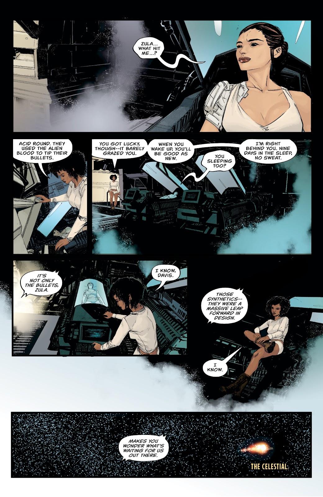 Read online Aliens: Resistance comic -  Issue #1 - 18