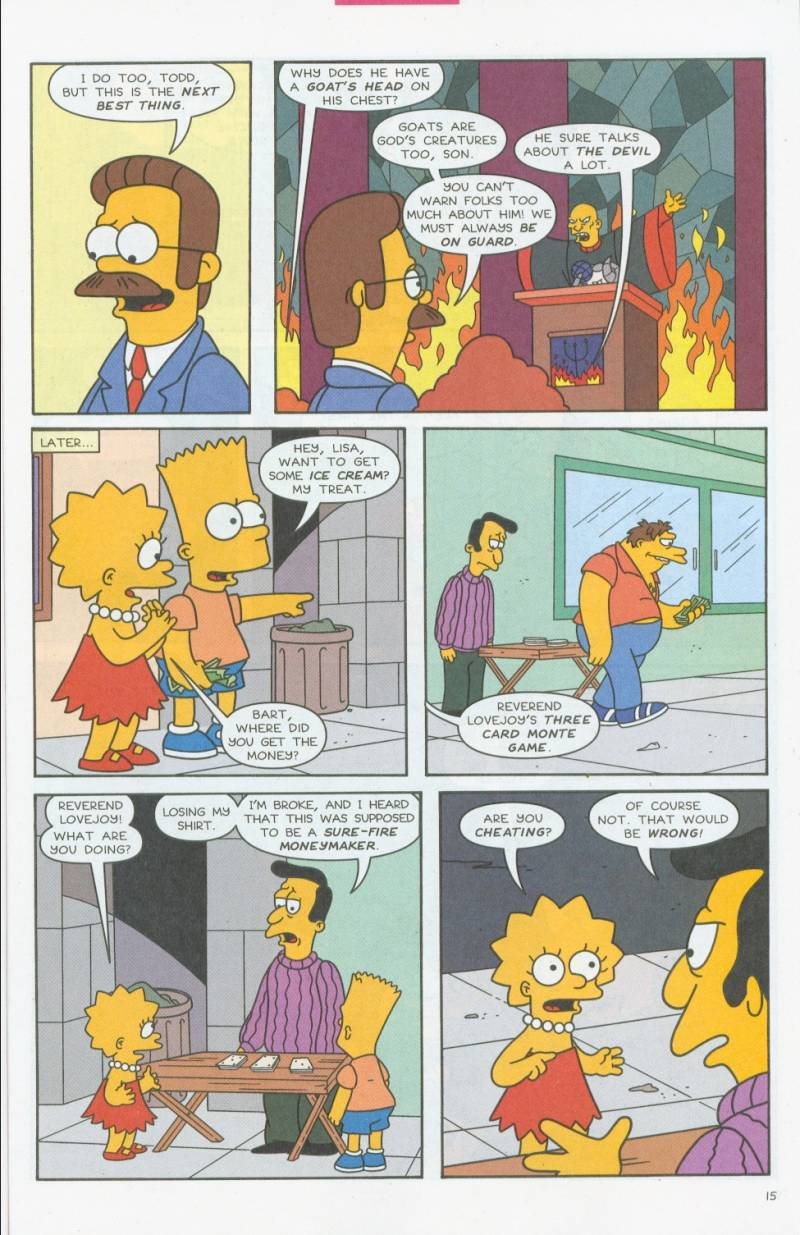 Read online Simpsons Comics comic -  Issue #69 - 14