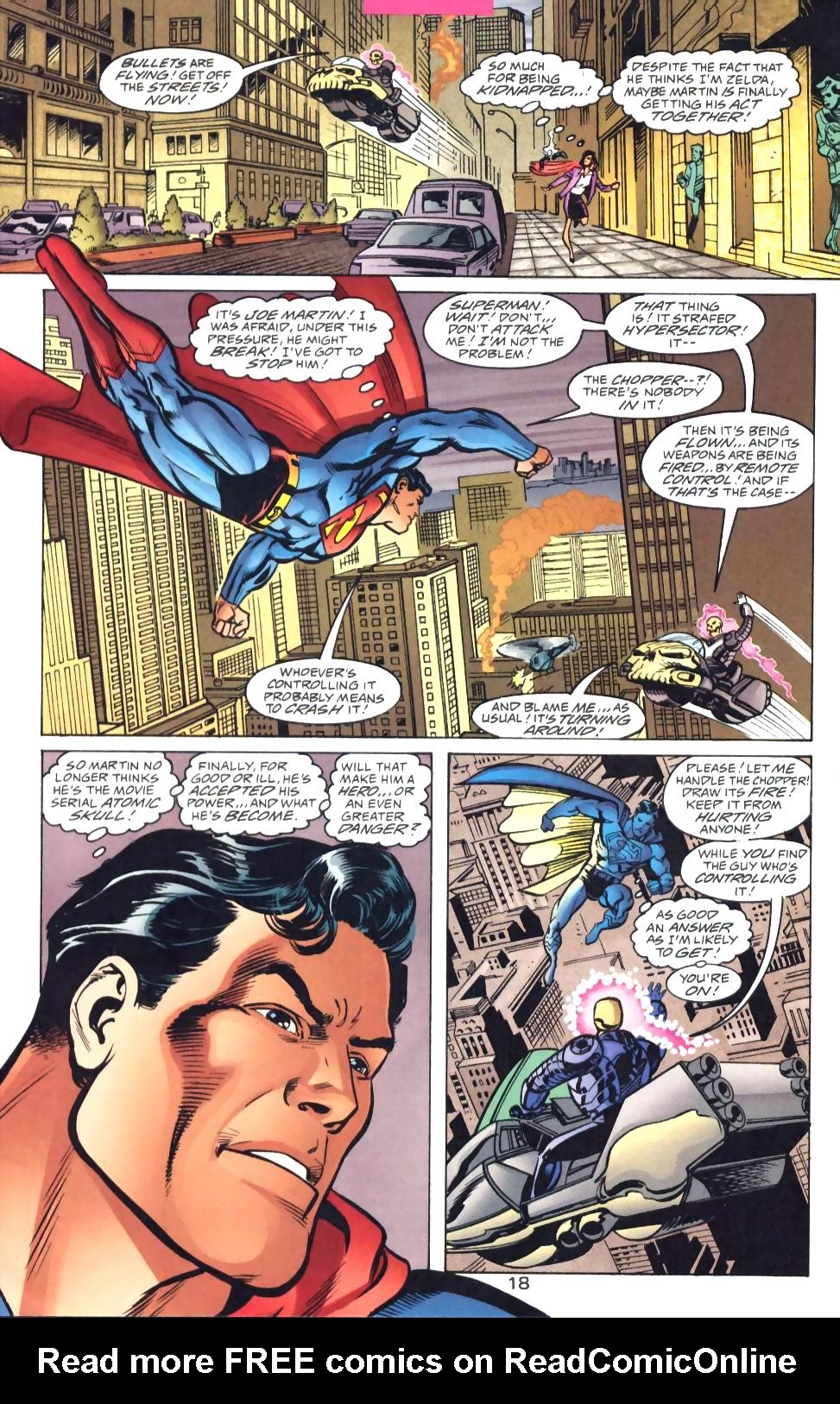 Read online Adventures of Superman (1987) comic -  Issue #571 - 20
