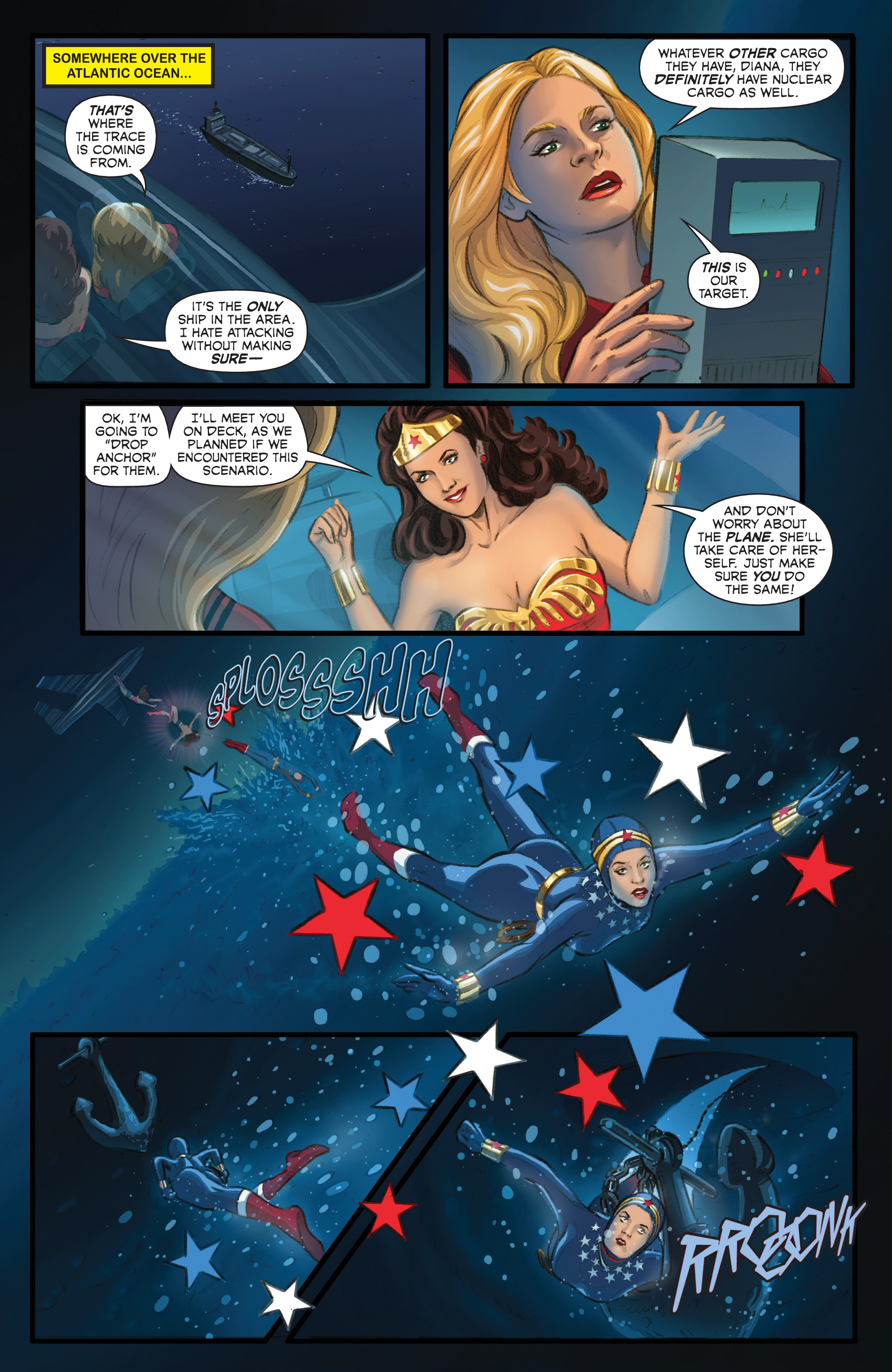 Read online Wonder Woman '77 Meets The Bionic Woman comic -  Issue #2 - 21
