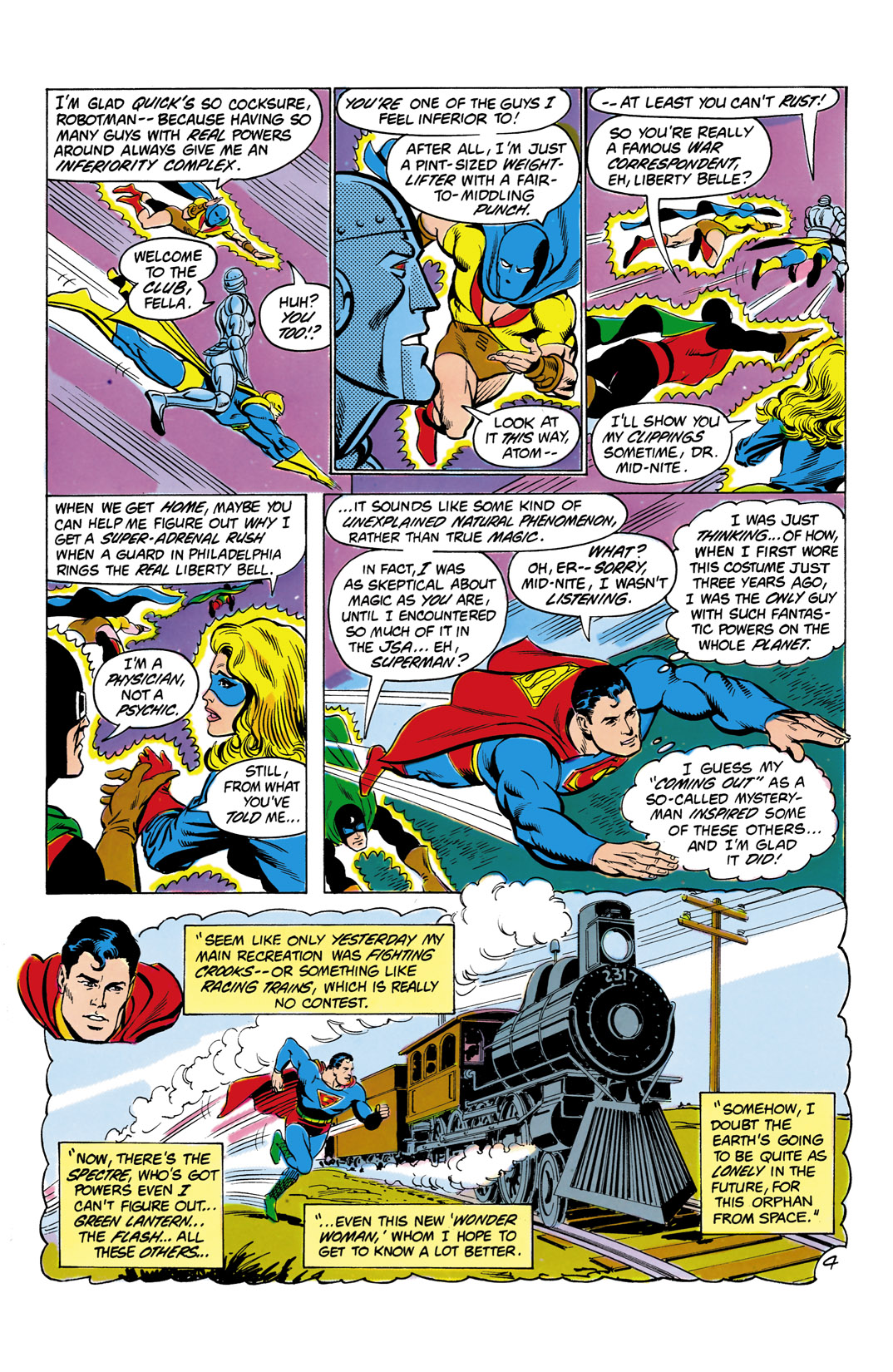 Read online All-Star Squadron comic -  Issue #4 - 5