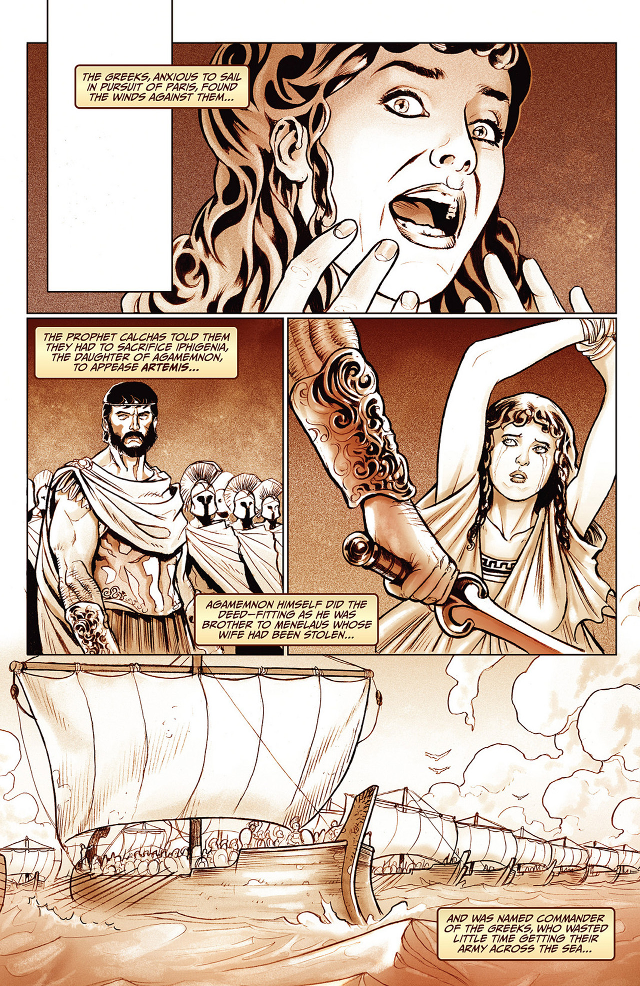 Read online Athena comic -  Issue #3 - 16