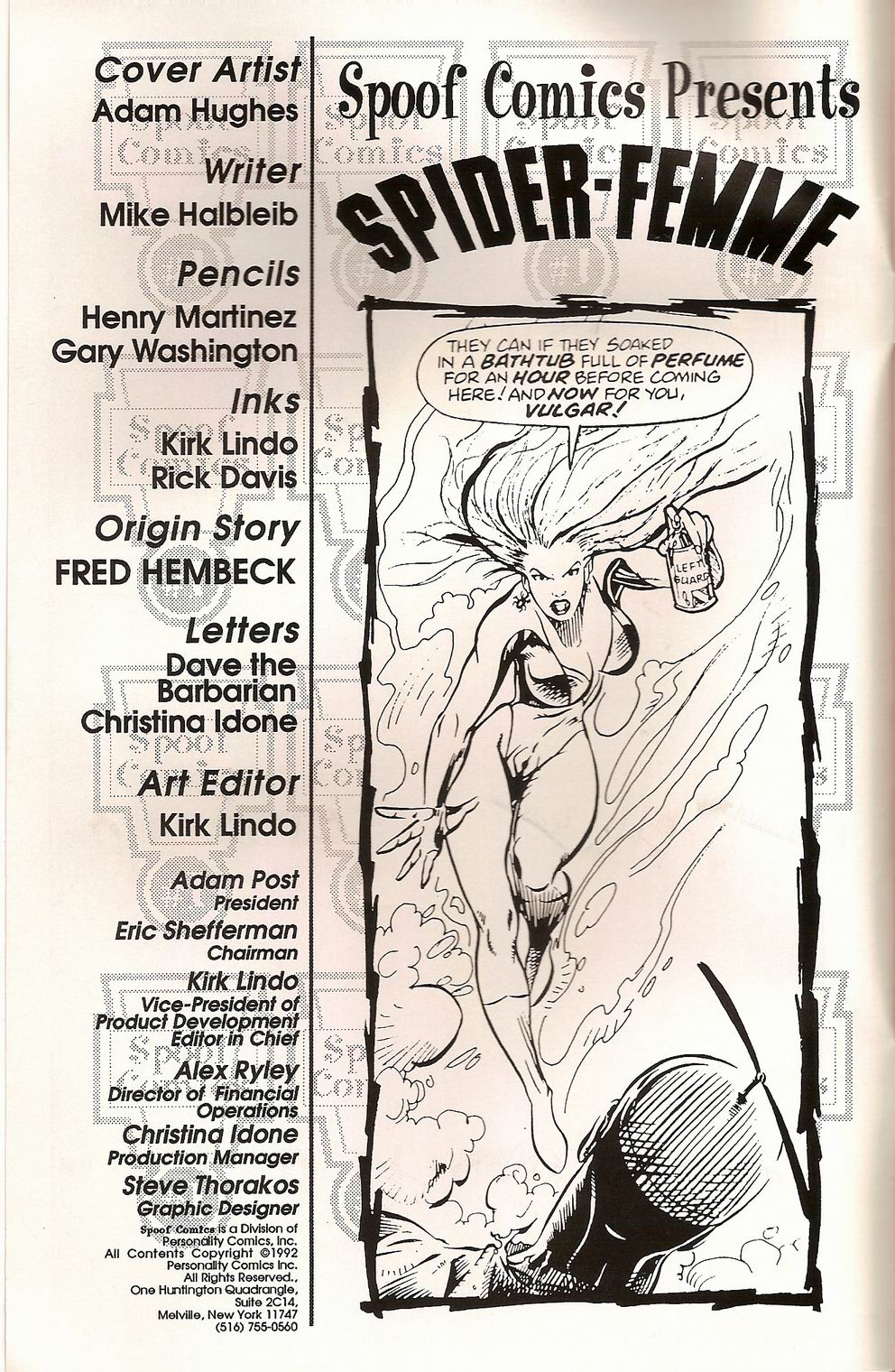 Spoof Comics 1 Page 2