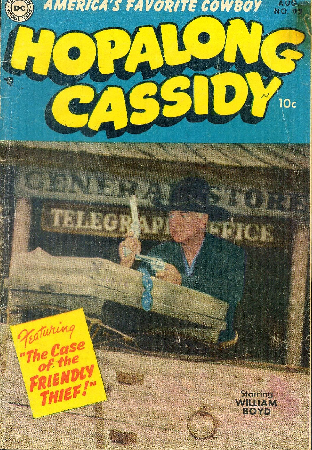 Hopalong Cassidy issue 92 - Page 1