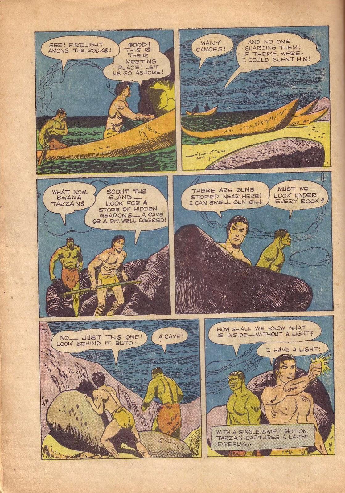 Tarzan (1948) issue 50 - Page 38