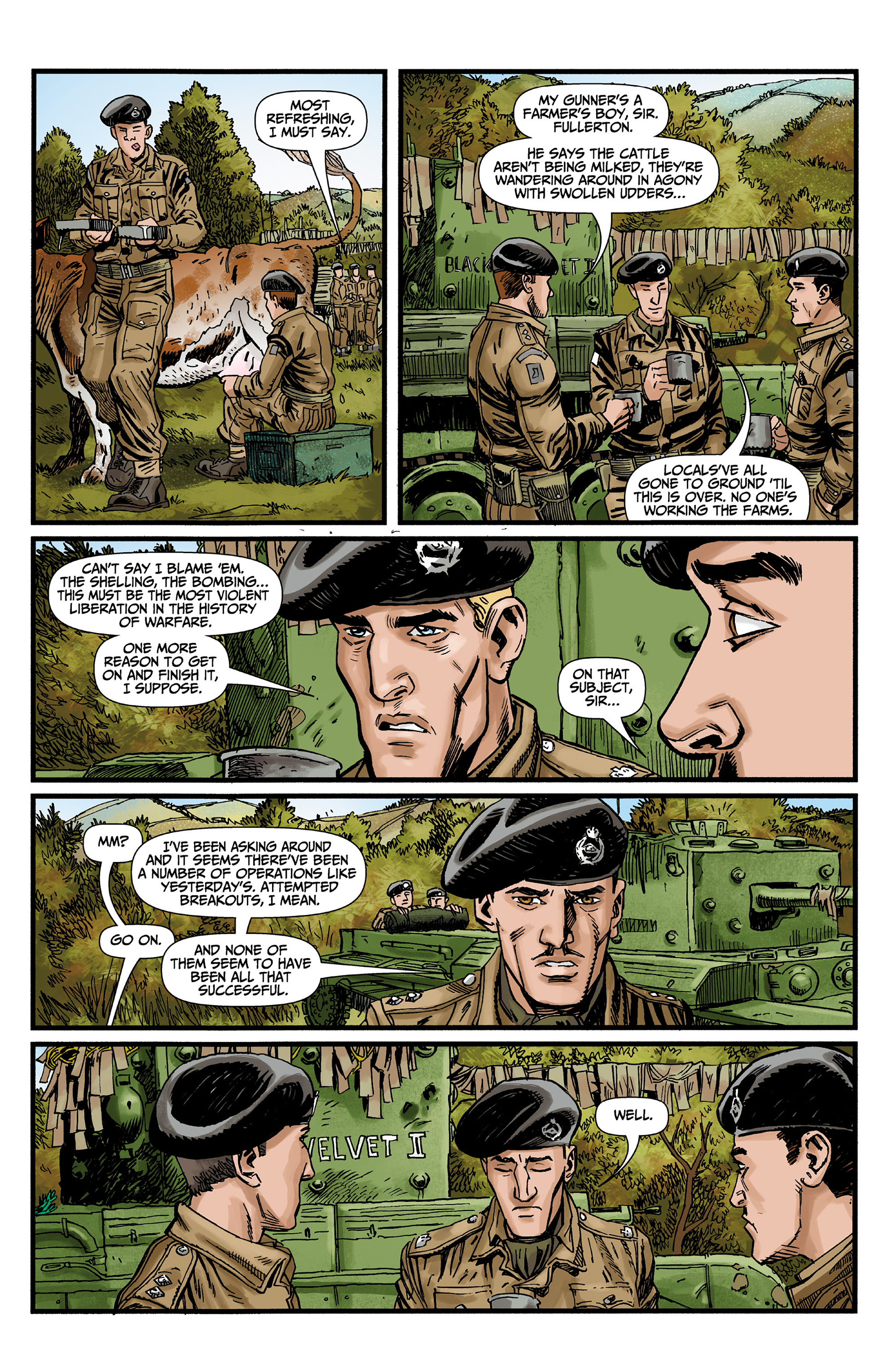 Read online World of Tanks comic -  Issue #3 - 9