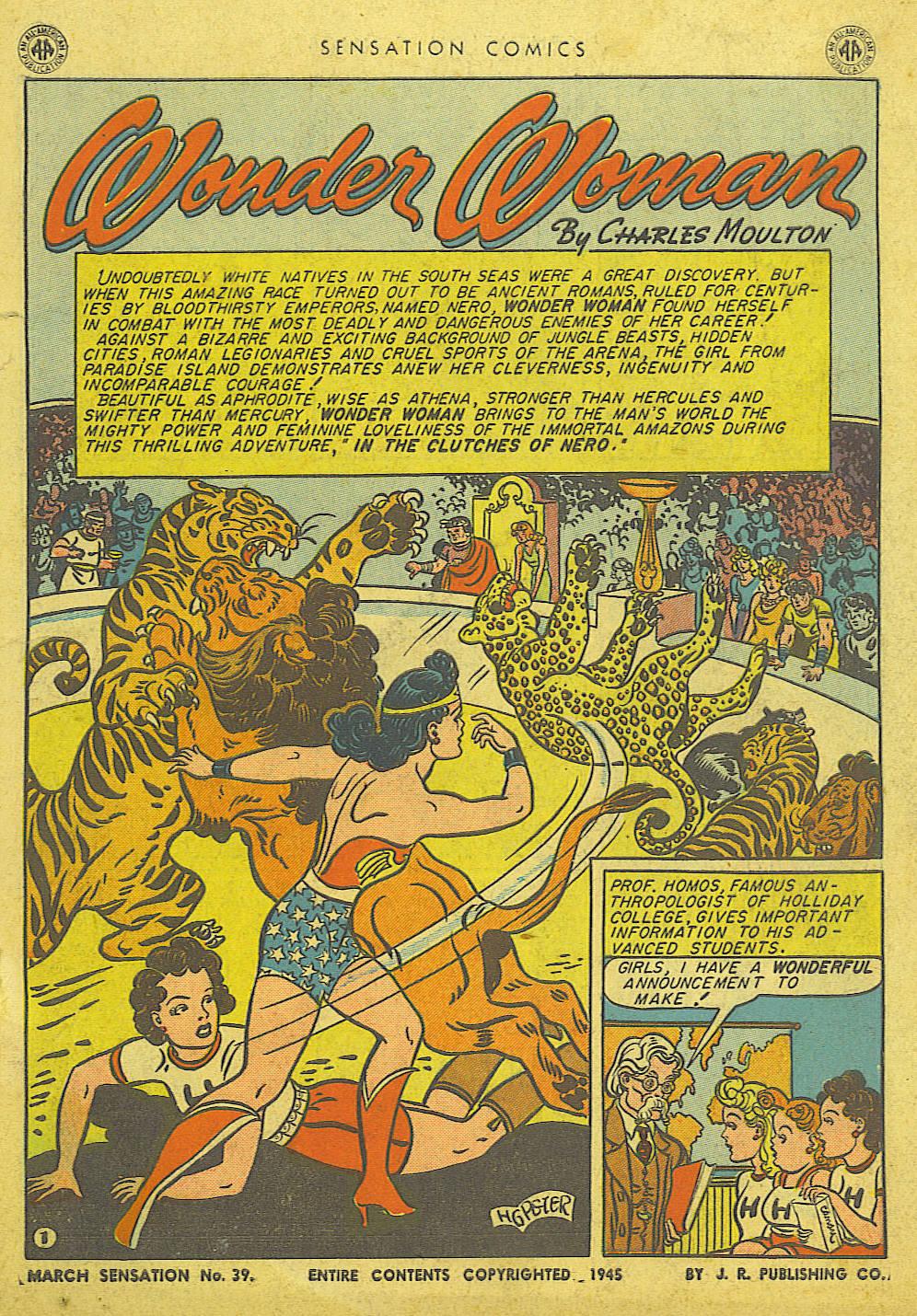 Read online Sensation (Mystery) Comics comic -  Issue #39 - 3