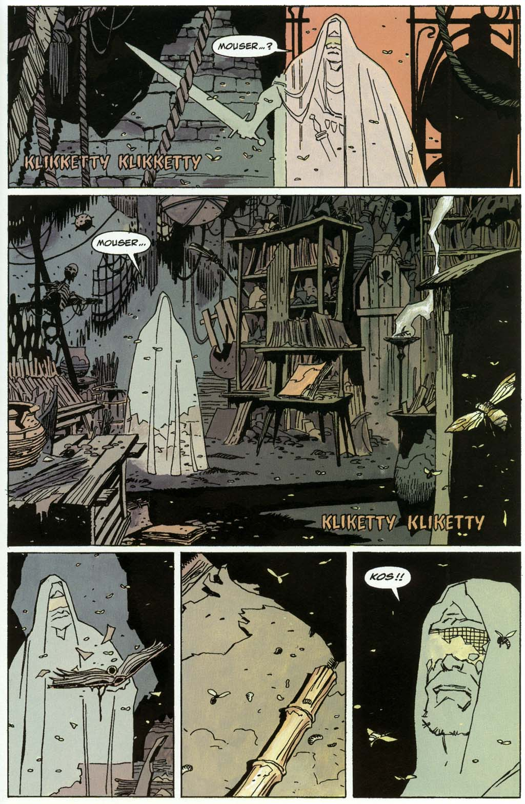 Read online Fafhrd and the Gray Mouser comic -  Issue #3 - 43