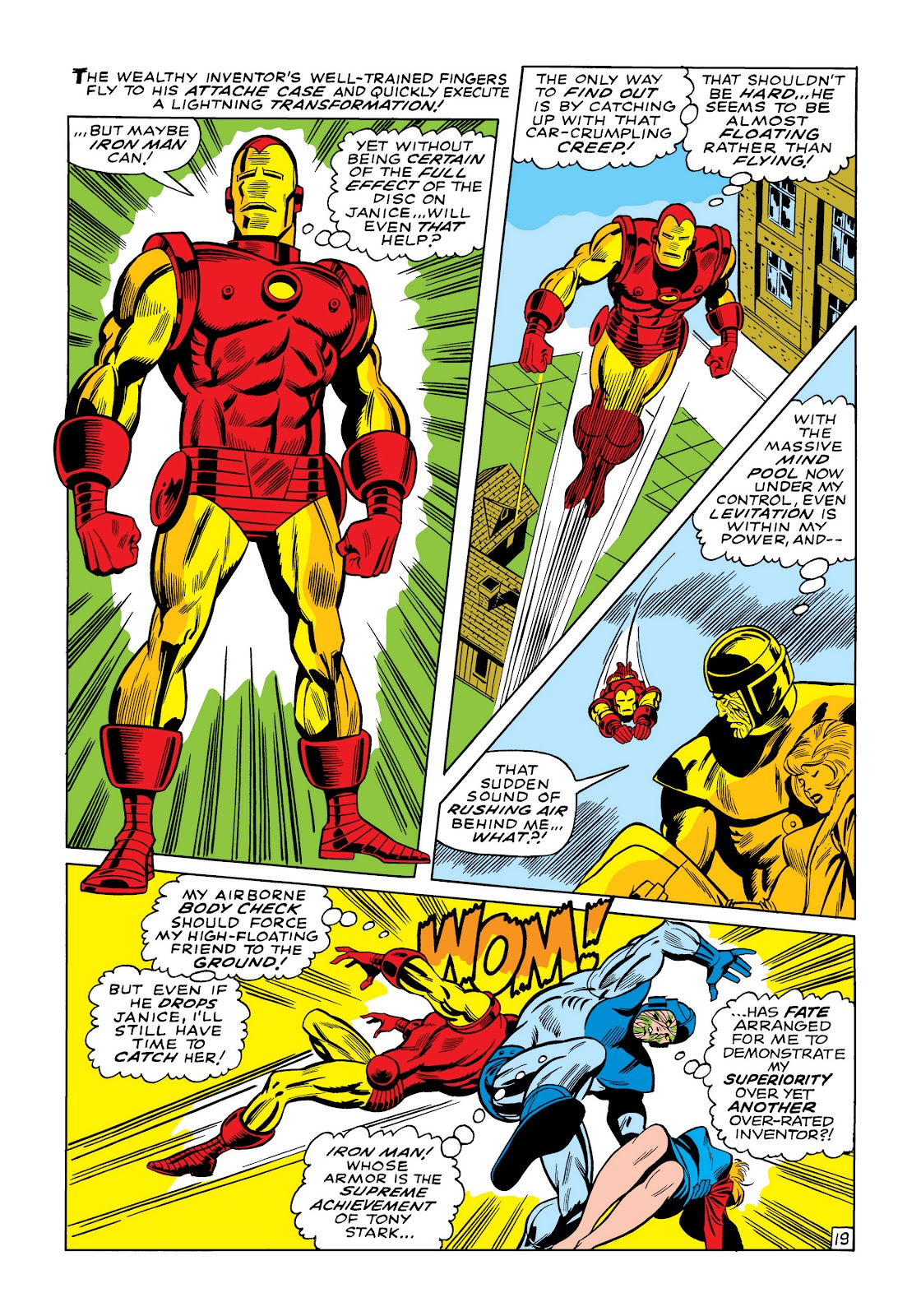 Read online Marvel Masterworks: The Invincible Iron Man comic -  Issue # TPB 5 (Part 3) - 36