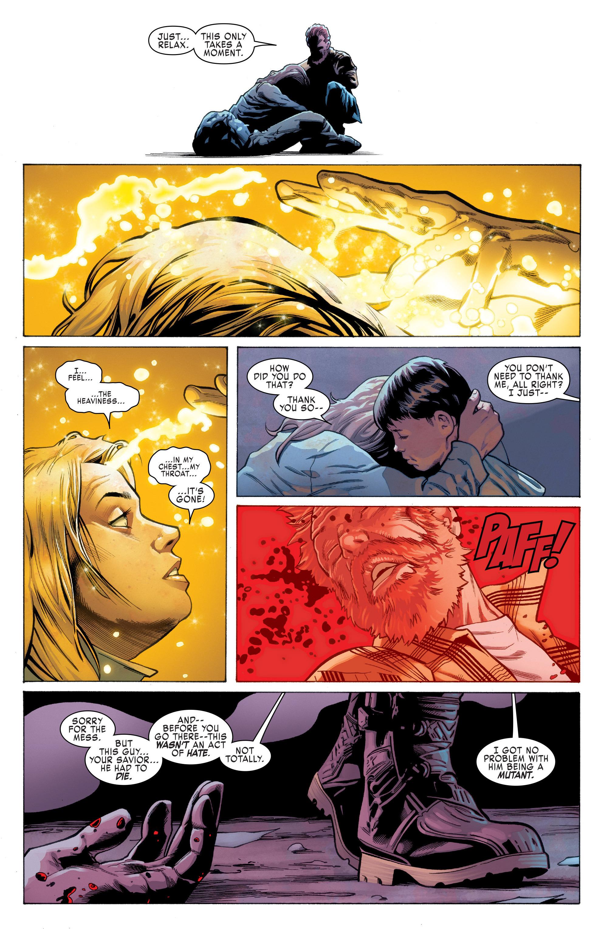 Read online Uncanny X-Men (2016) comic -  Issue #1 - 22