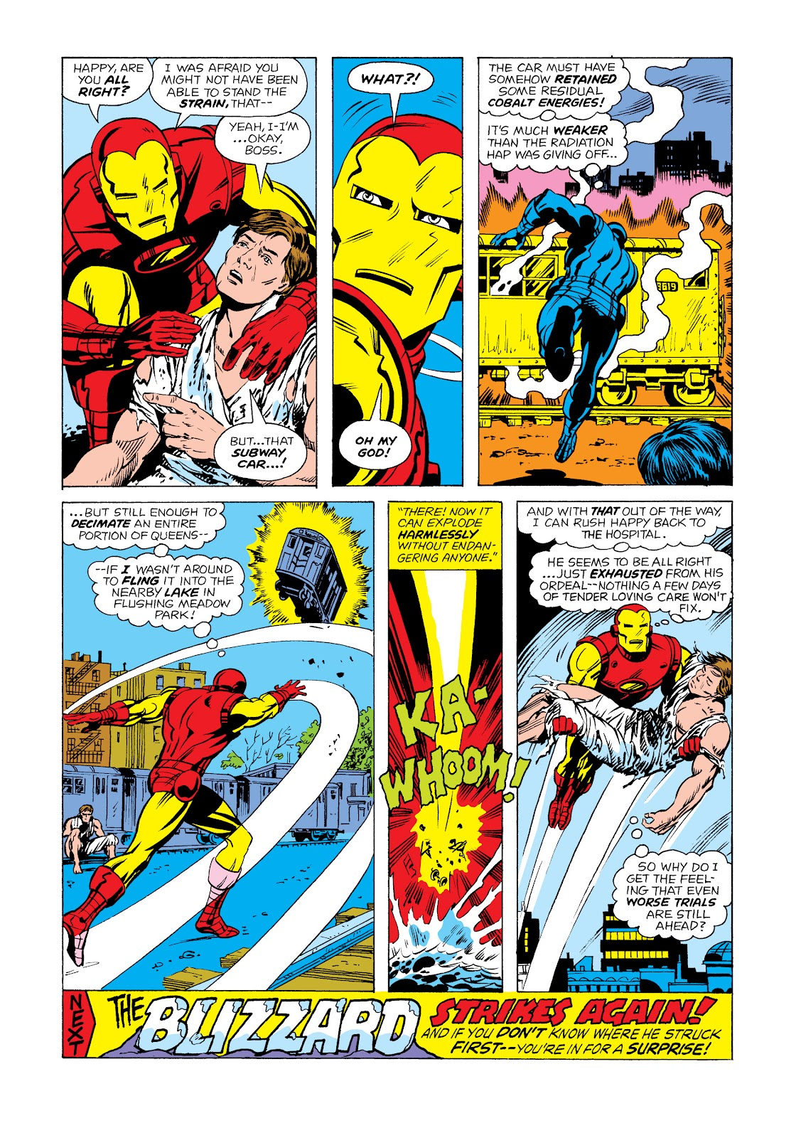 Read online Marvel Masterworks: The Invincible Iron Man comic -  Issue # TPB 11 (Part 1) - 84